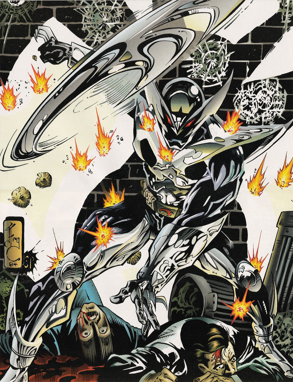 Read online ShadowHawk comic -  Issue #15 - 17