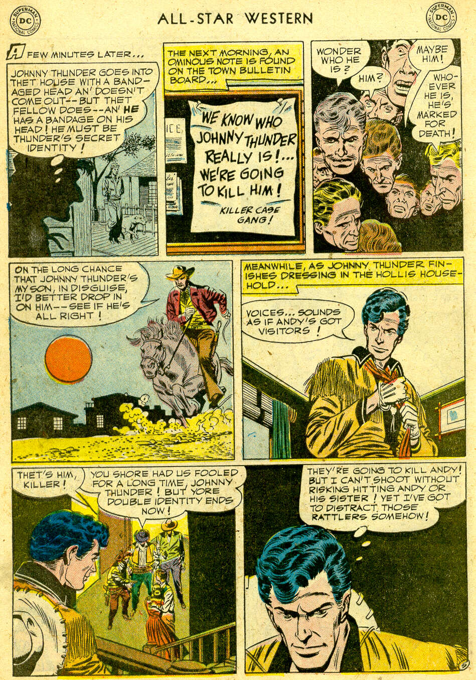 Read online All-Star Western (1951) comic -  Issue #68 - 32