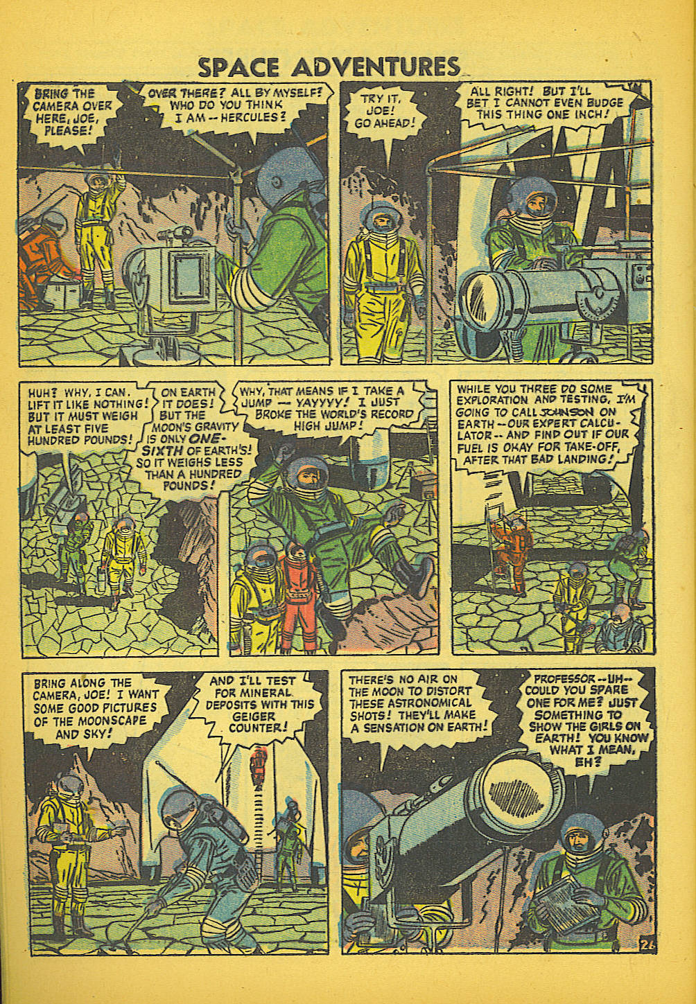 Space Adventures (1952) issue 20 - Page 28