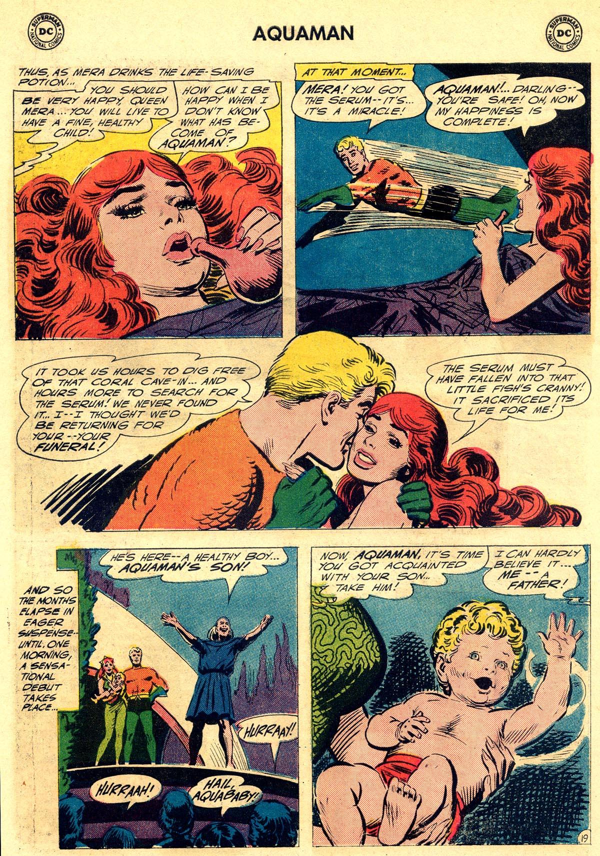 Read online Aquaman (1962) comic -  Issue #23 - 26