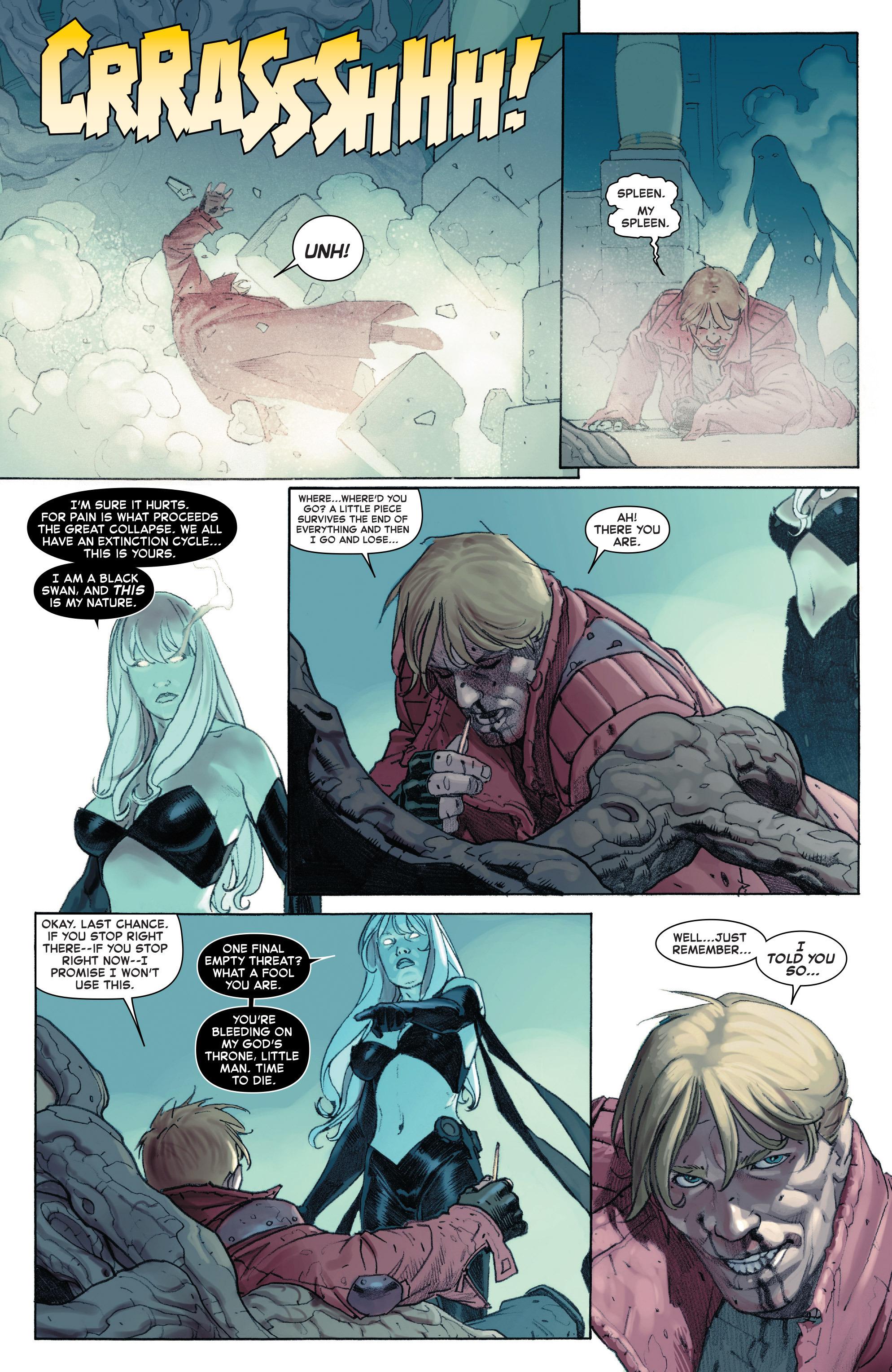 Read online Secret Wars comic -  Issue #8 - 16