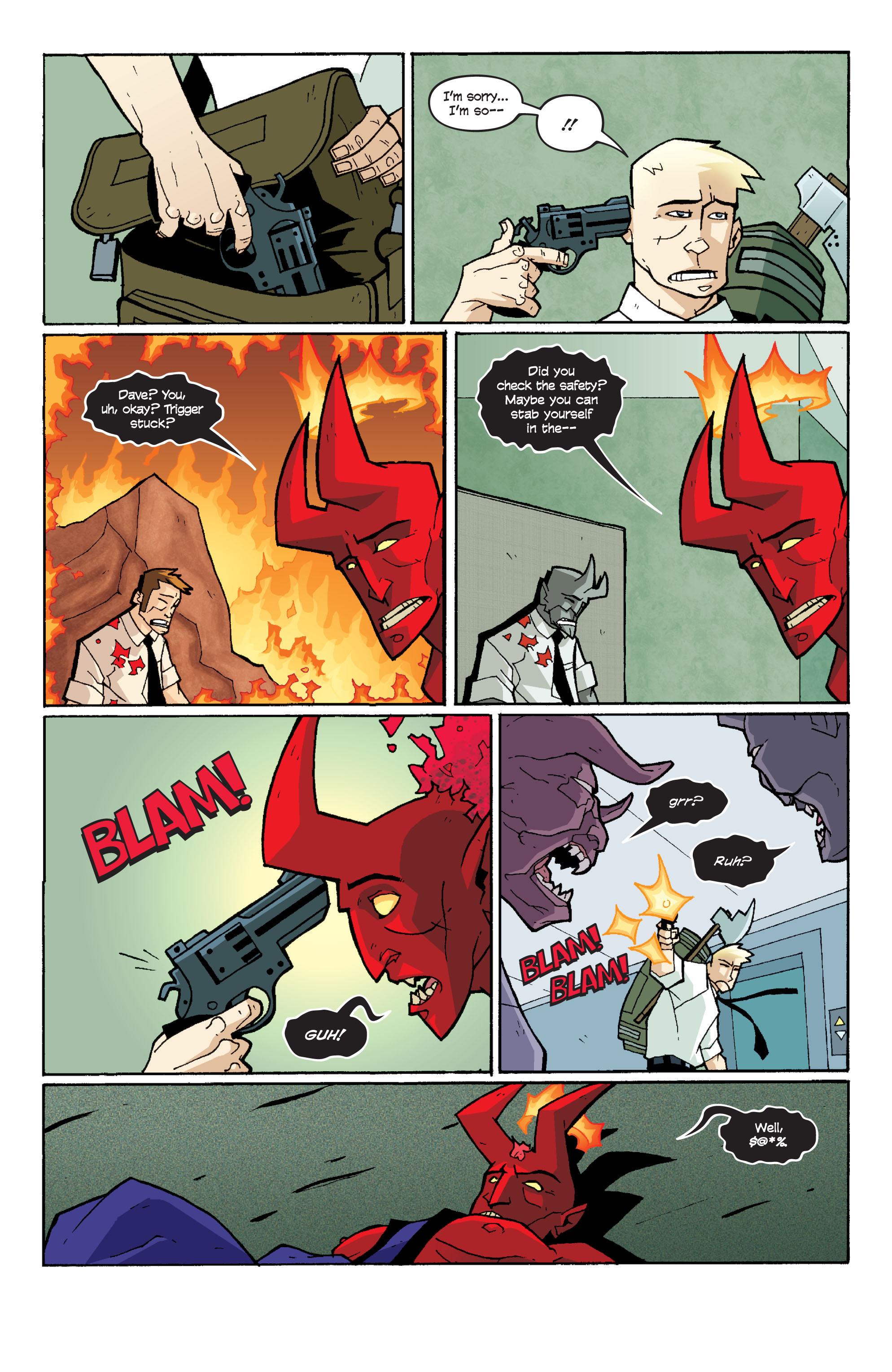 Read online Killer Of Demons comic -  Issue #3 - 20