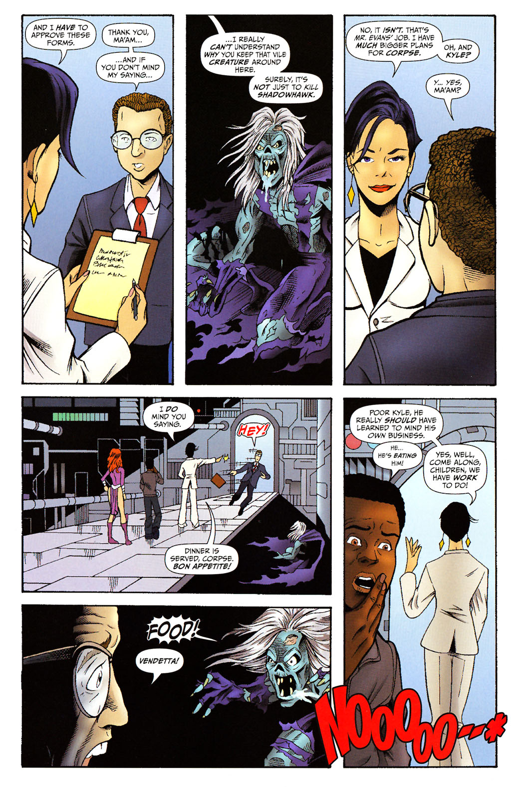 Read online ShadowHawk (2005) comic -  Issue #15 - 17