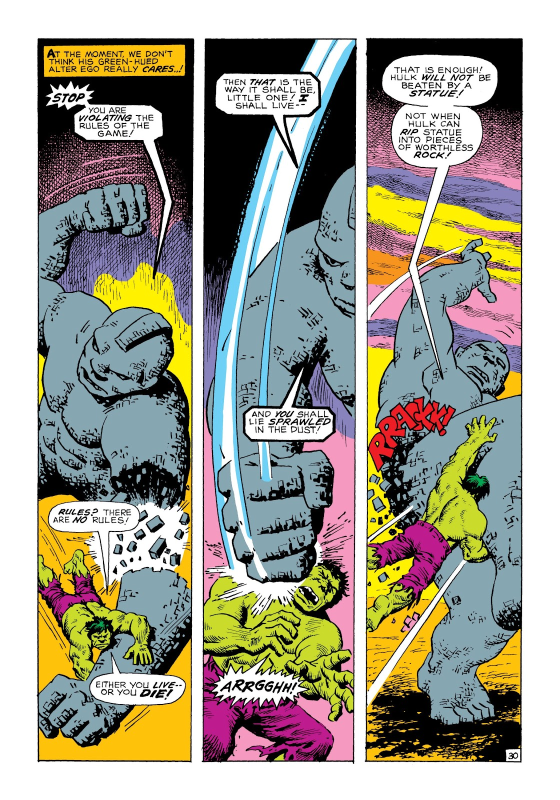 Read online Marvel Masterworks: The Incredible Hulk comic -  Issue # TPB 8 (Part 1) - 37