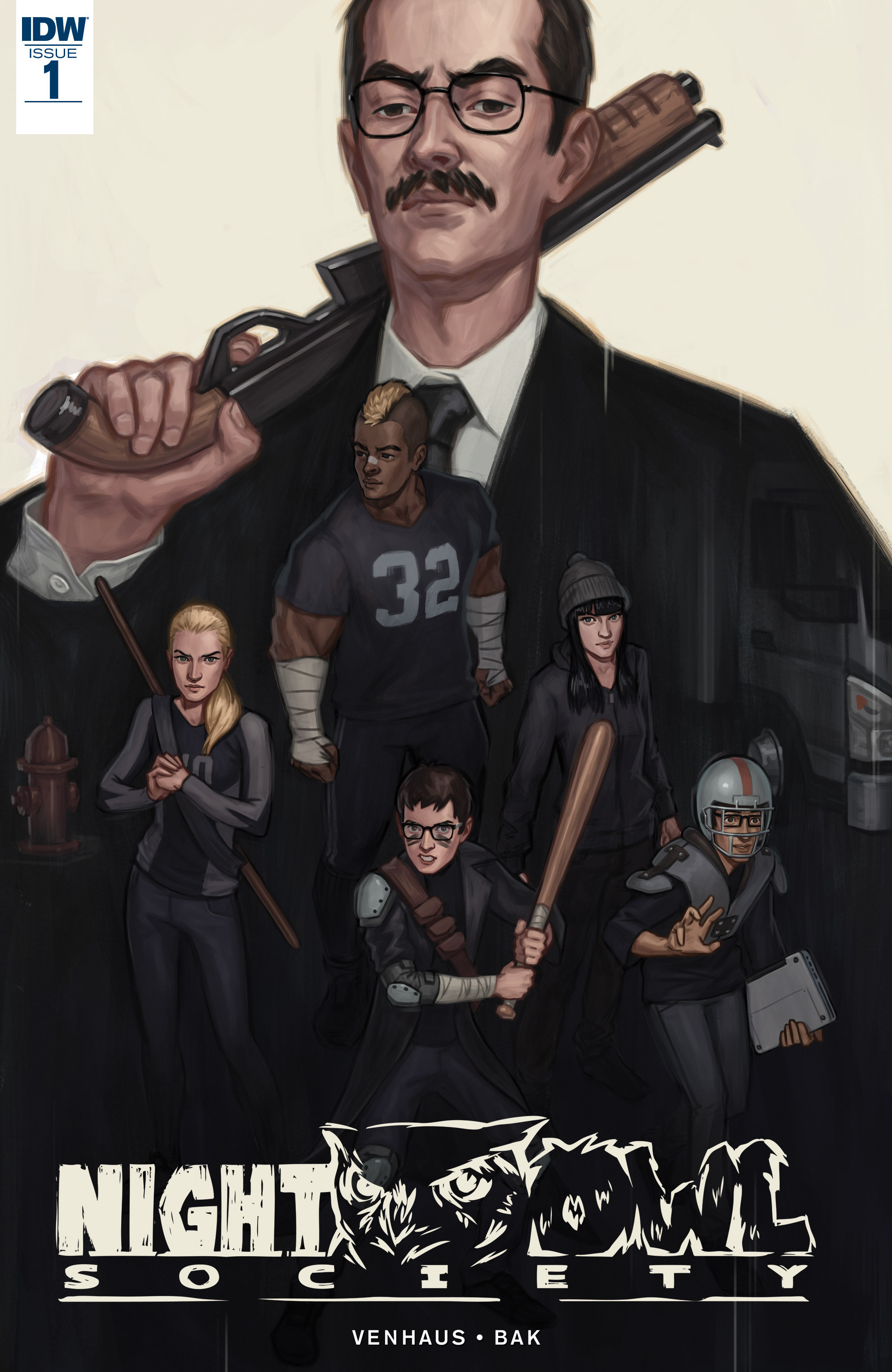 Read online Night Owl Society comic -  Issue #1 - 1