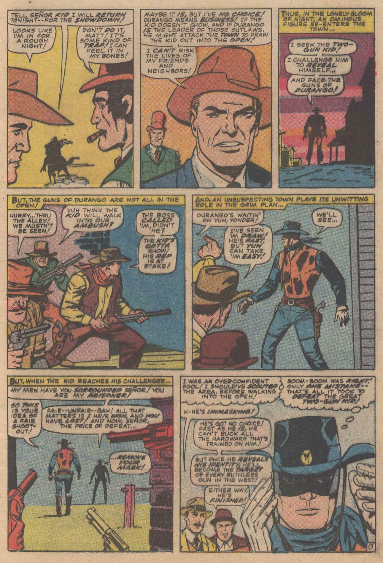 Read online Two-Gun Kid comic -  Issue #83 - 17
