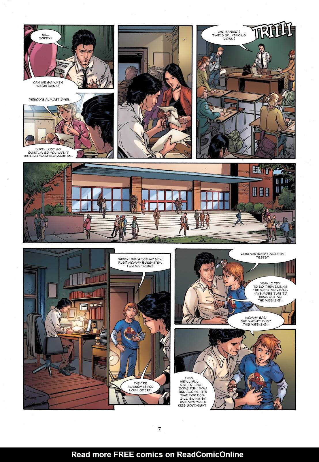 Read online Vigilantes comic -  Issue #1 - 7