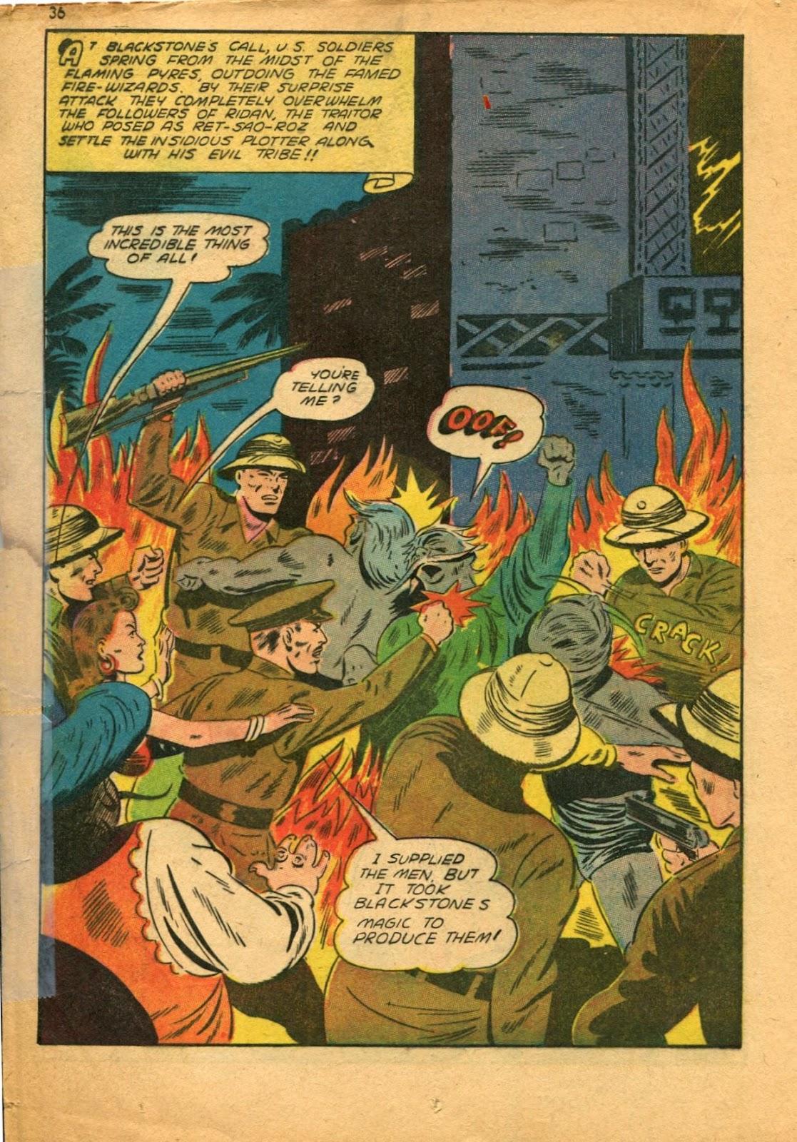 Read online Super-Magician Comics comic -  Issue #11 - 36