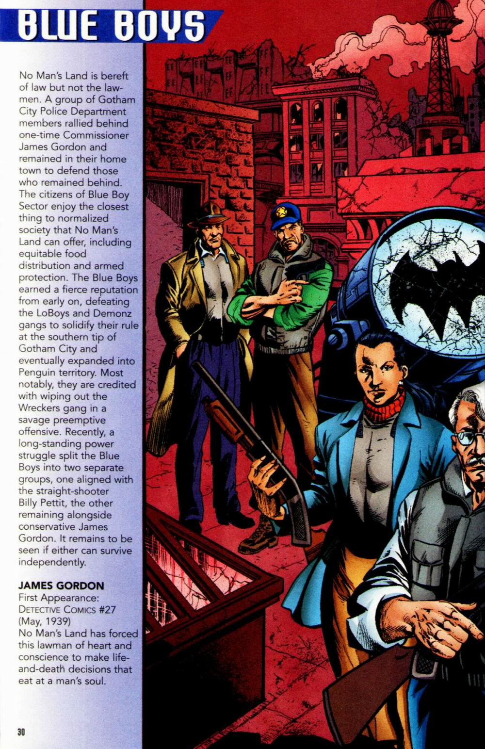 Read online Batman: No Man's Land Secret Files comic -  Issue # Full - 29