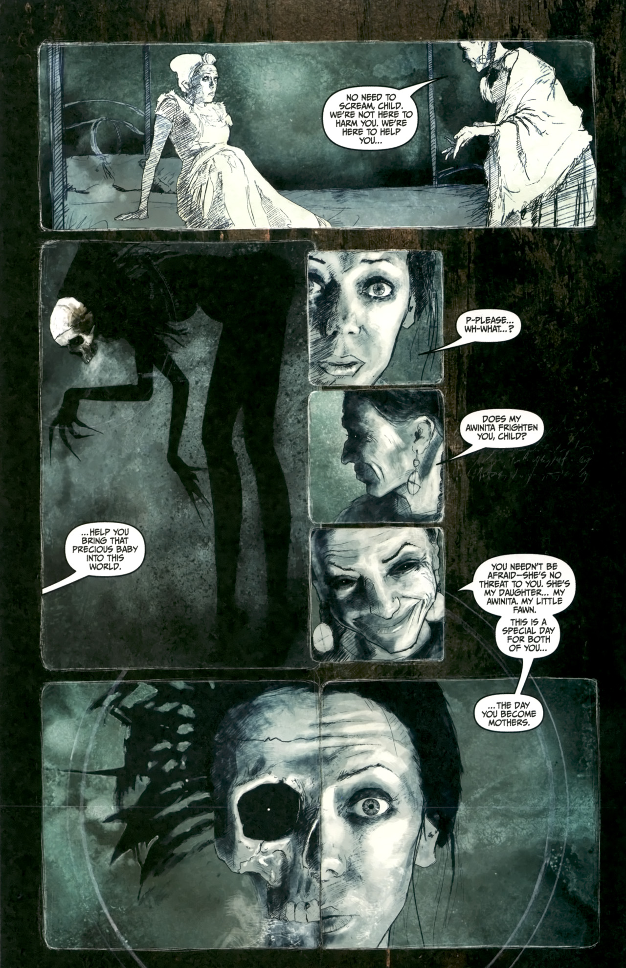 Read online Silent Hill: Past Life comic -  Issue #4 - 6