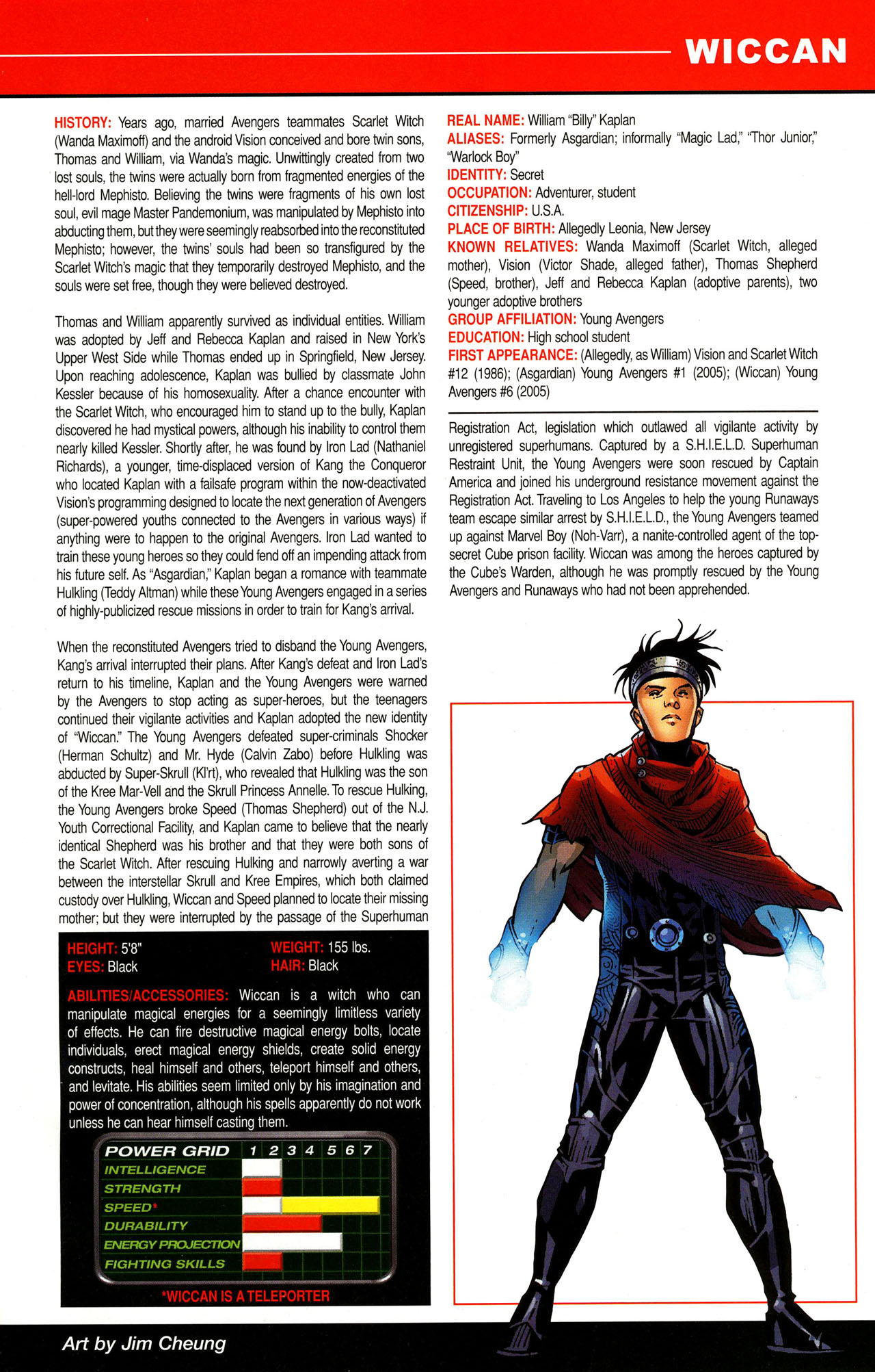 Read online All-New Official Handbook of the Marvel Universe A to Z comic -  Issue #12 - 33