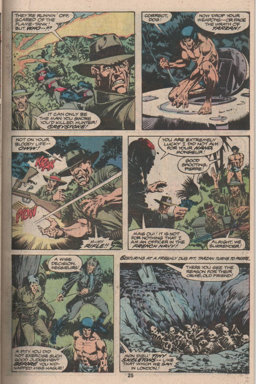 Read online Tarzan (1977) comic -  Issue # _Annual 3 - 20