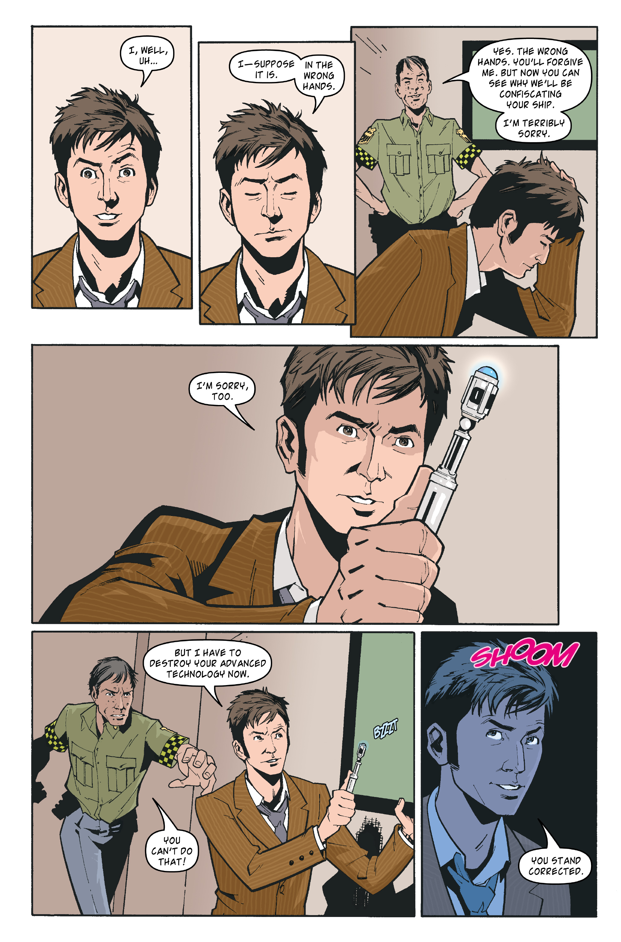 Read online Doctor Who: The Tenth Doctor Archives comic -  Issue #35 - 22