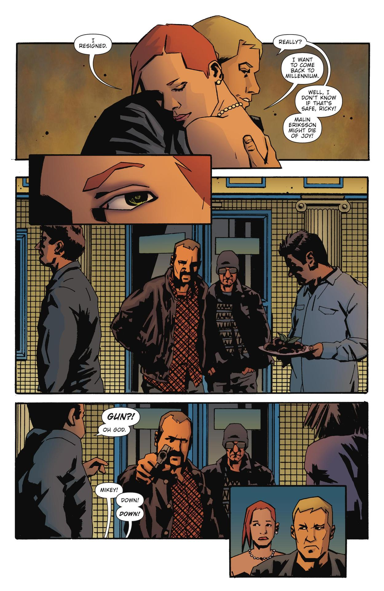 Read online The Girl Who Kicked The Hornet's Nest comic -  Issue # TPB - 206