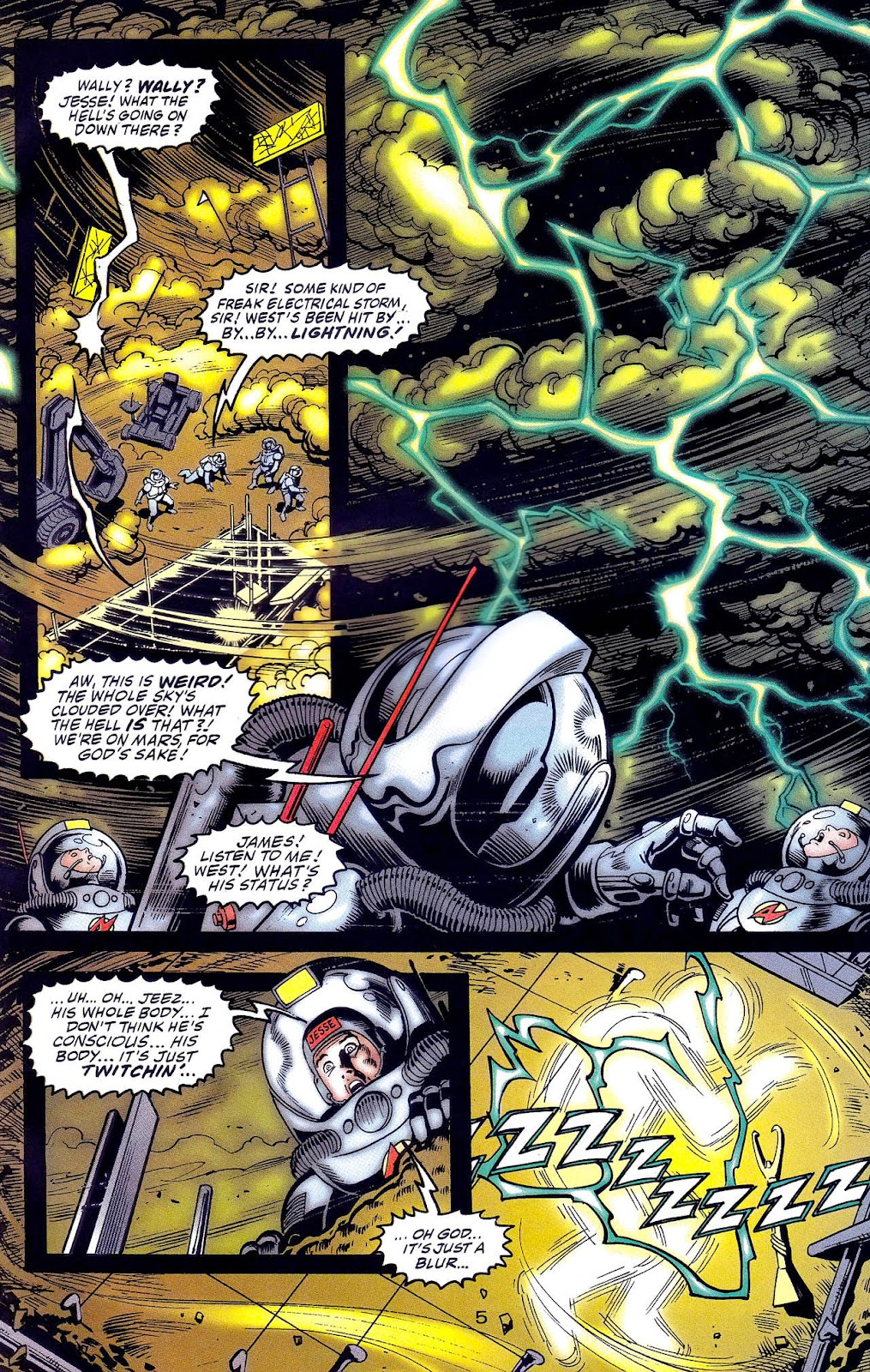 Read online Flashpoint (1999) comic -  Issue #1 - 9