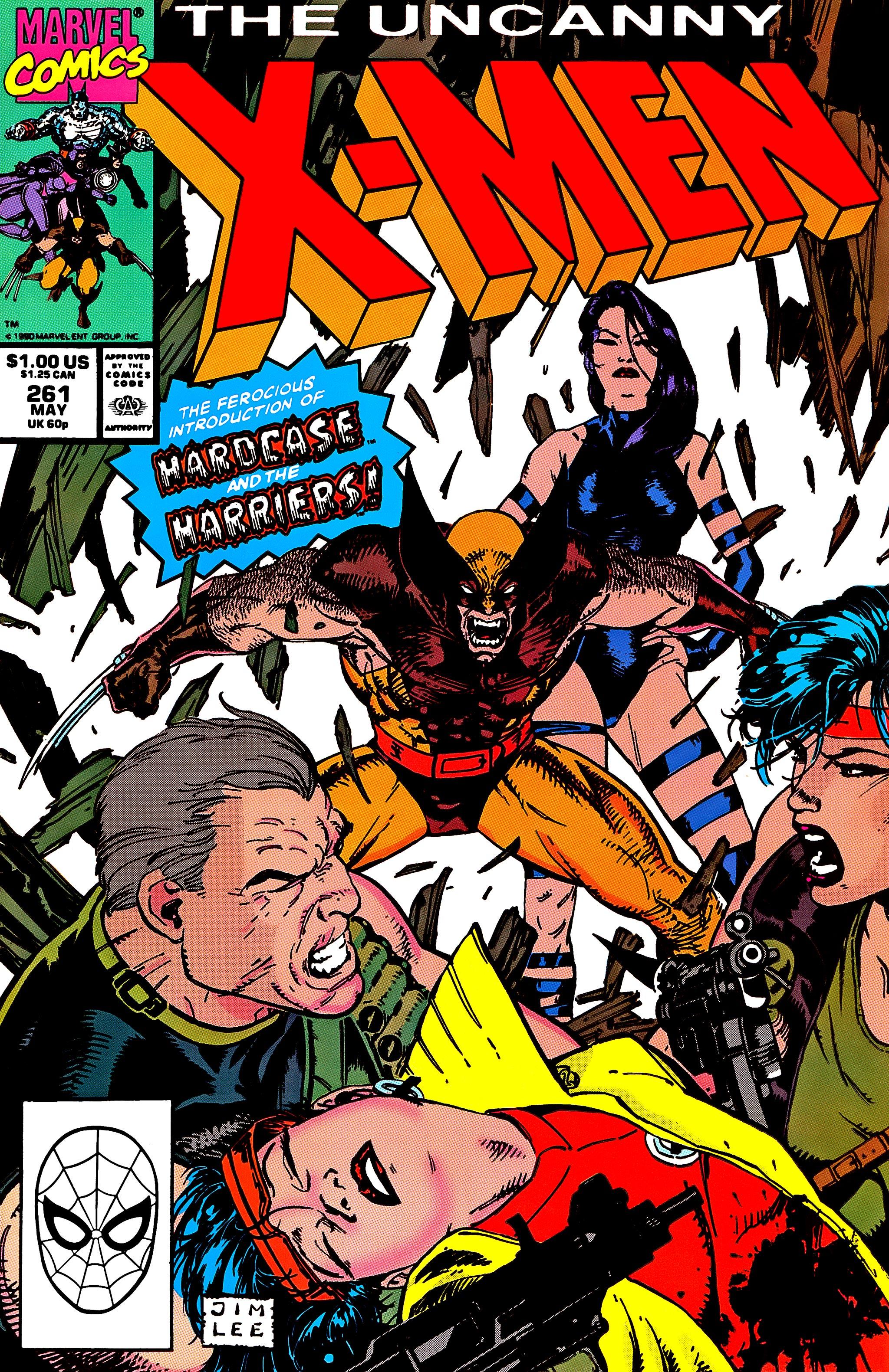 Uncanny X-Men (1963) 261 Page 1