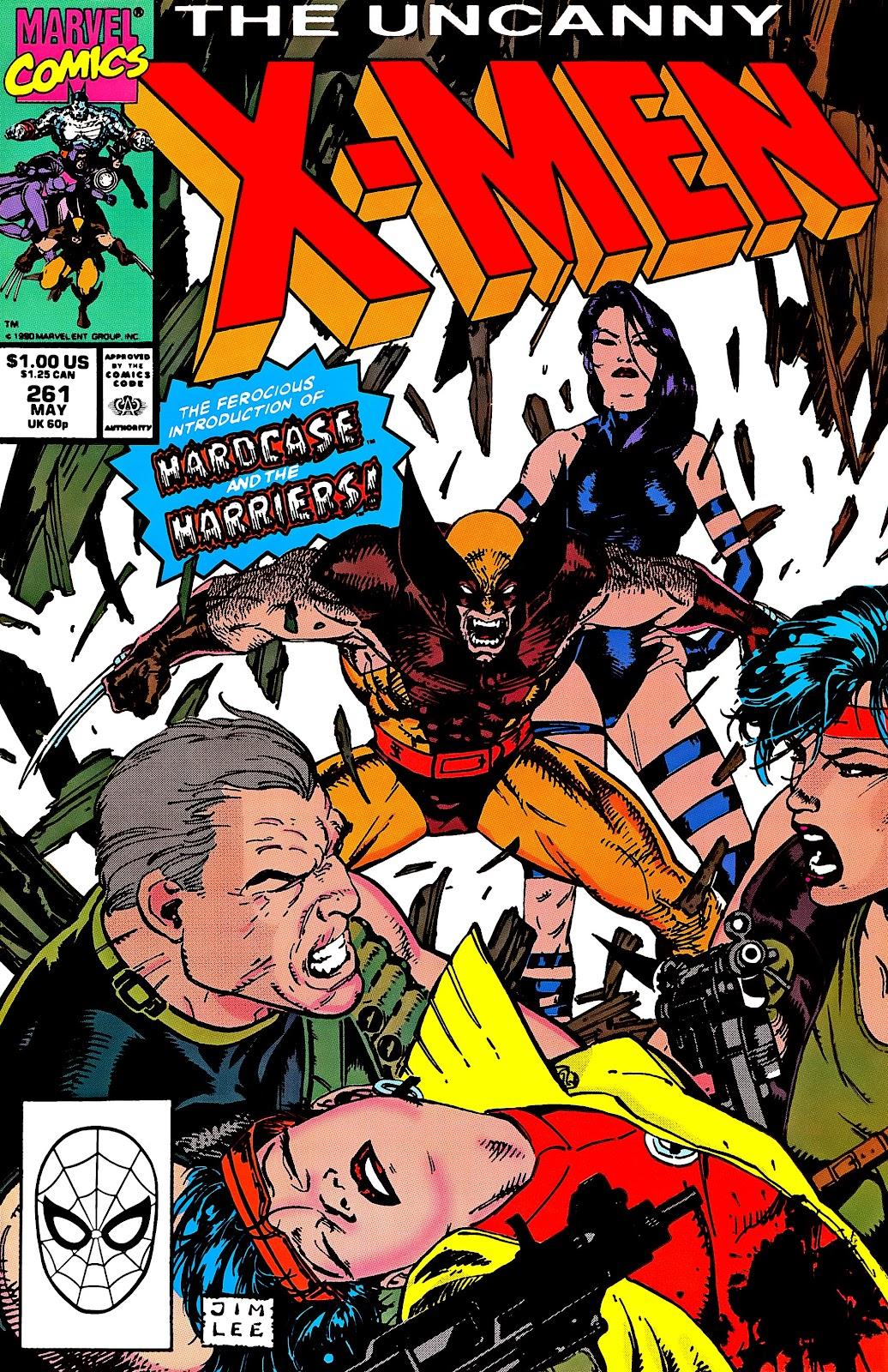 Uncanny X-Men (1963) issue 261 - Page 1