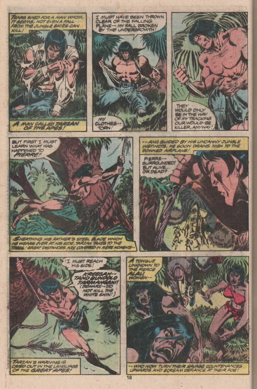 Read online Tarzan (1977) comic -  Issue # _Annual 3 - 15