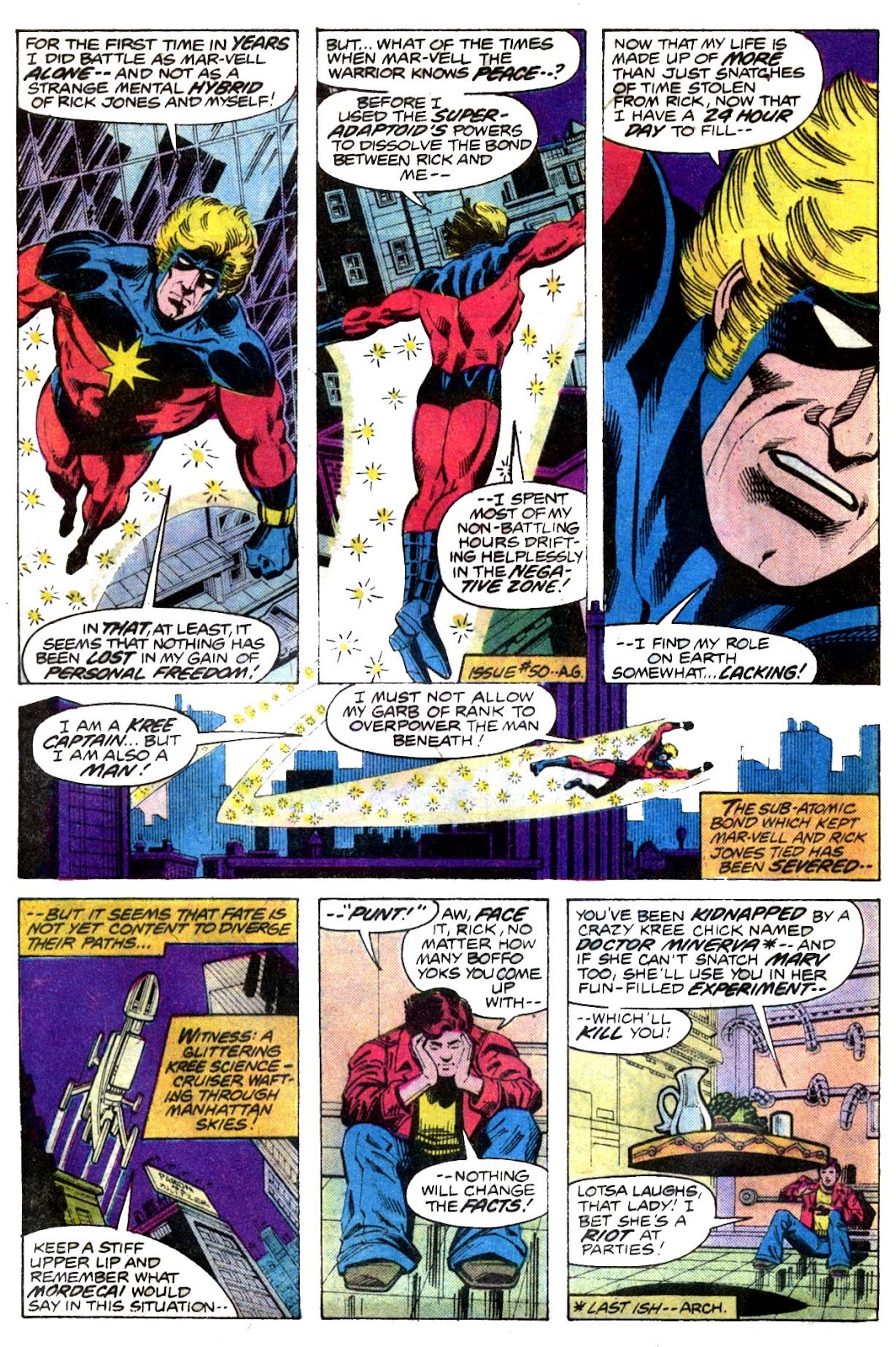 Captain Marvel (1968) issue 52 - Page 3