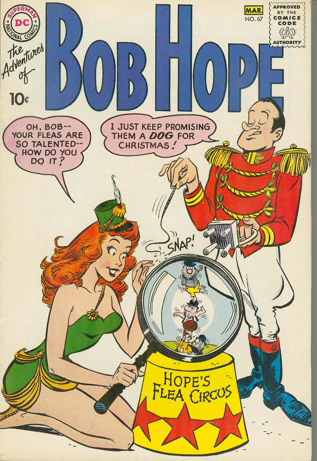 The Adventures of Bob Hope issue 67 - Page 1