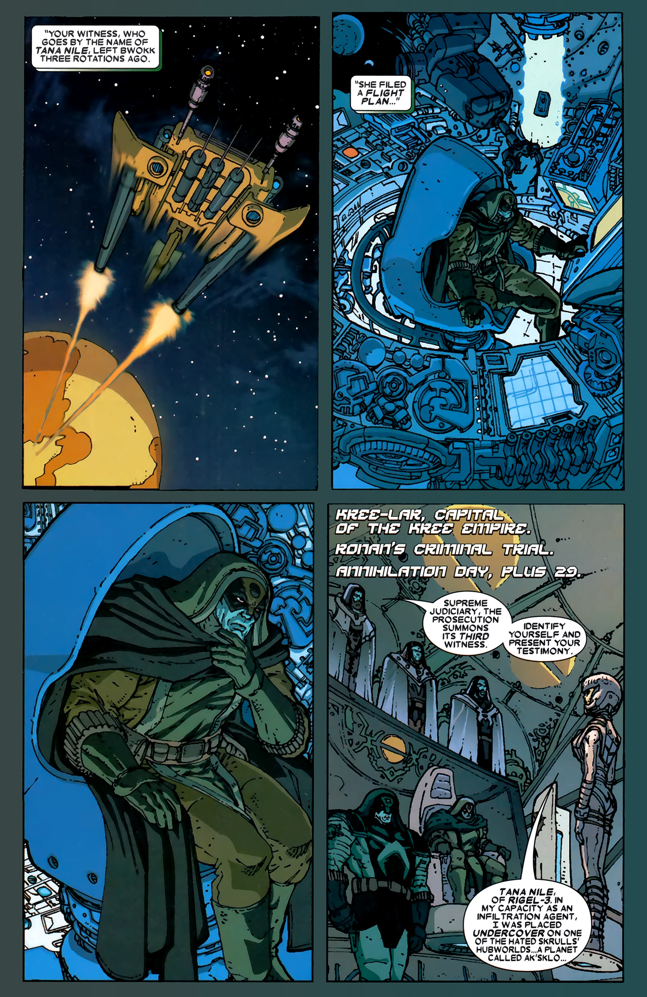 Read online Annihilation: Ronan comic -  Issue #1 - 16