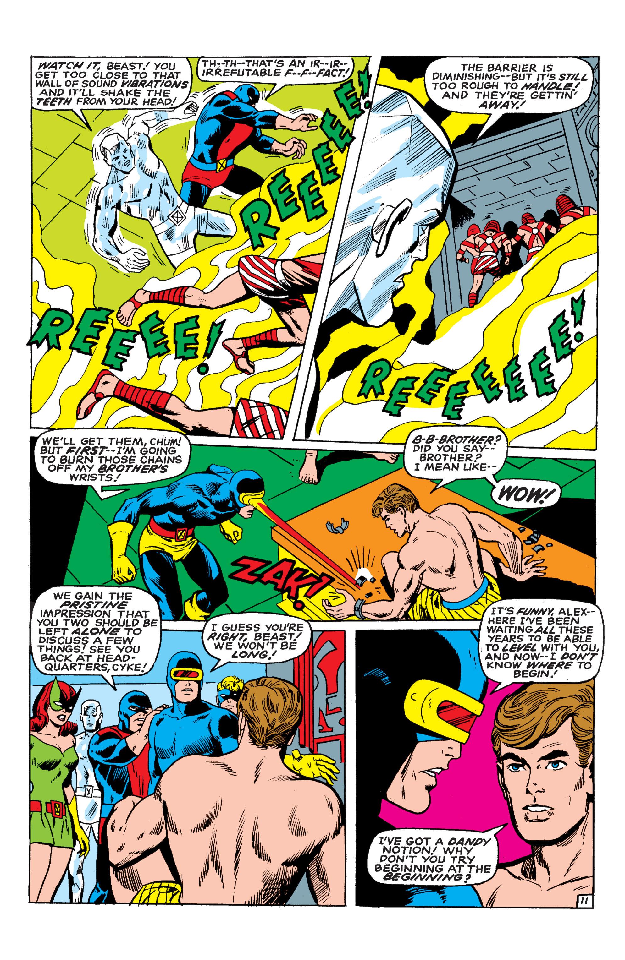 Read online Uncanny X-Men (1963) comic -  Issue #54 - 12