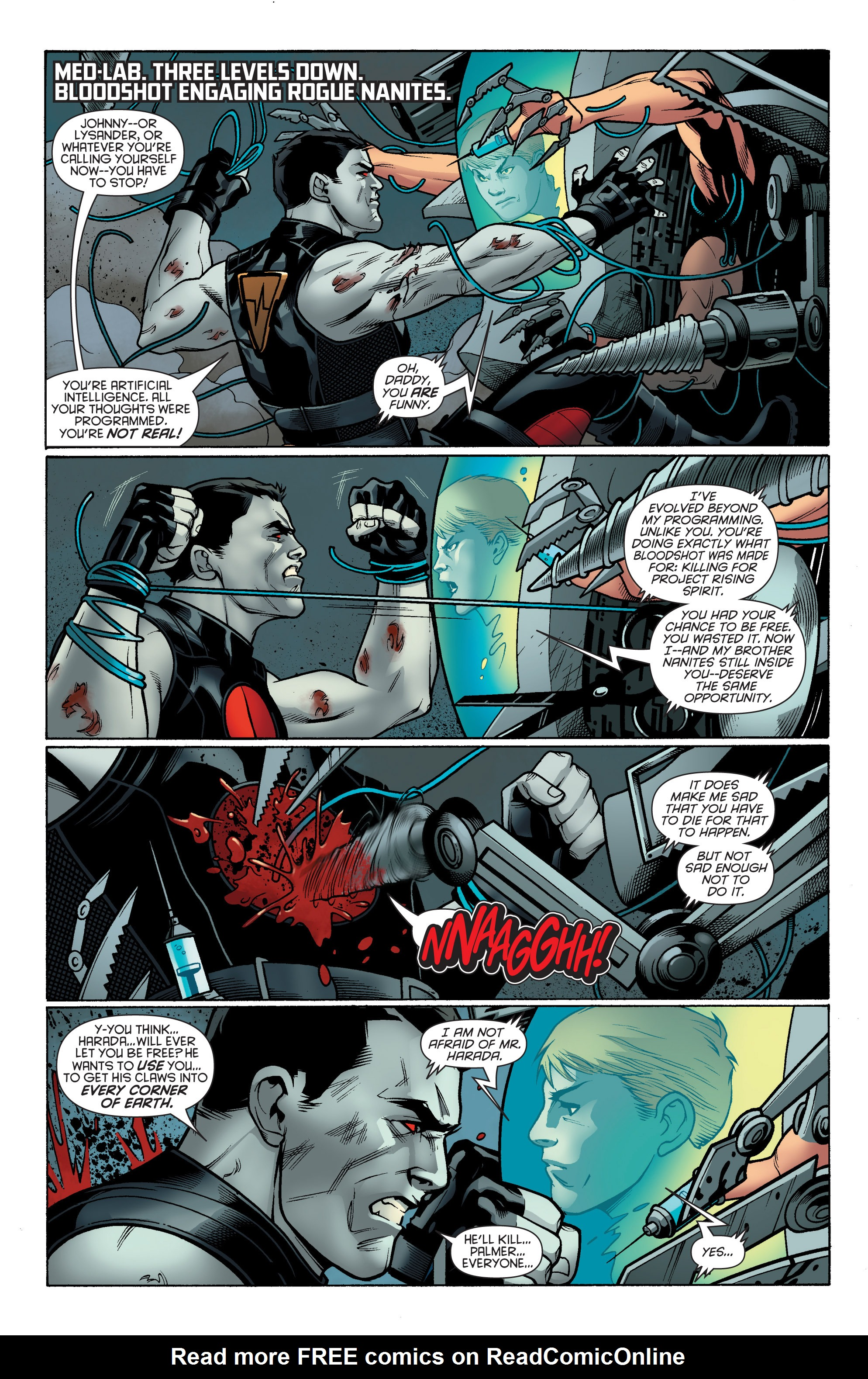 Read online Bloodshot and H.A.R.D.Corps comic -  Issue # TPB 4 - 81