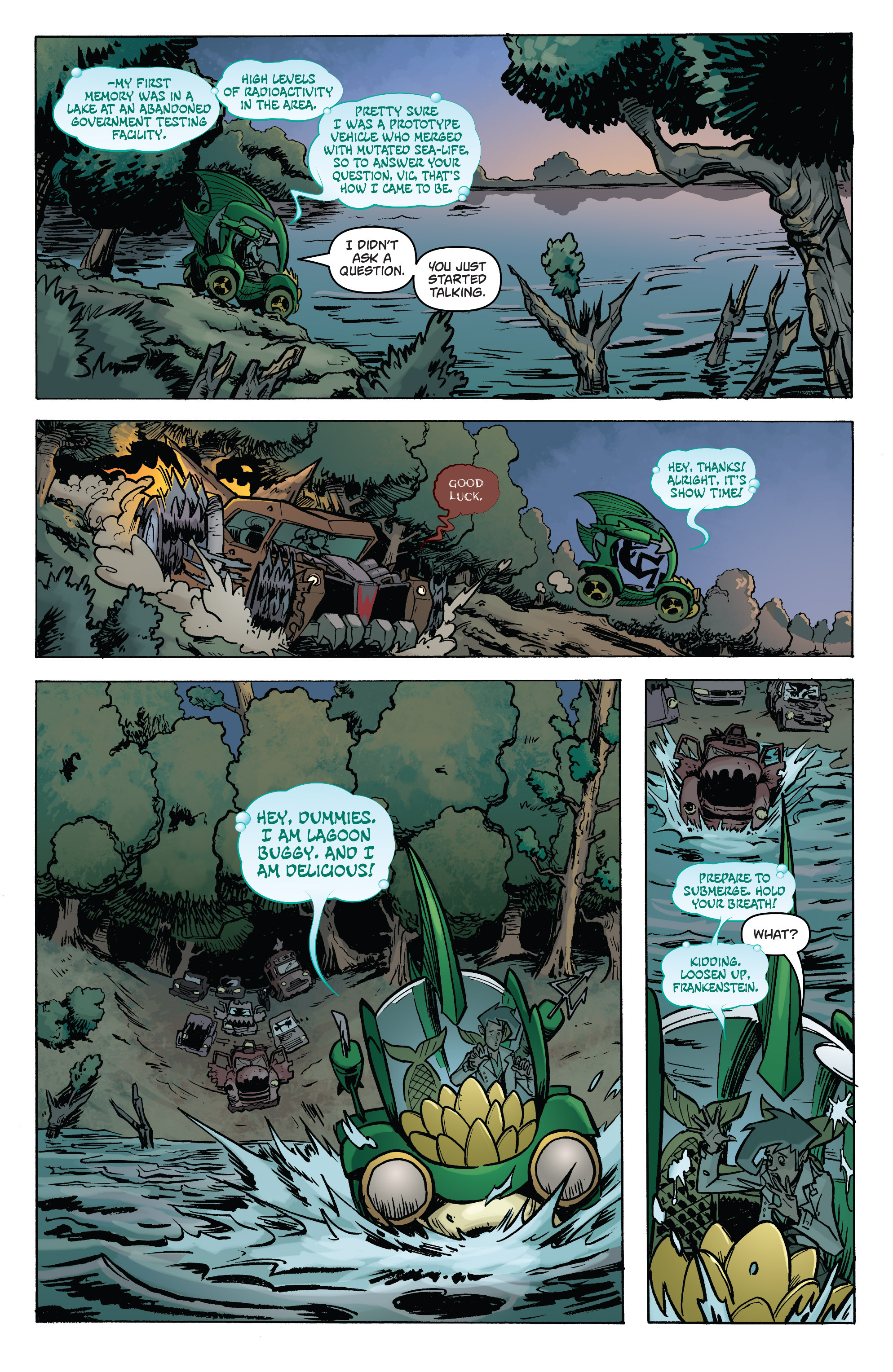 Read online Monster Motors: The Curse of Minivan Helsing comic -  Issue #2 - 18