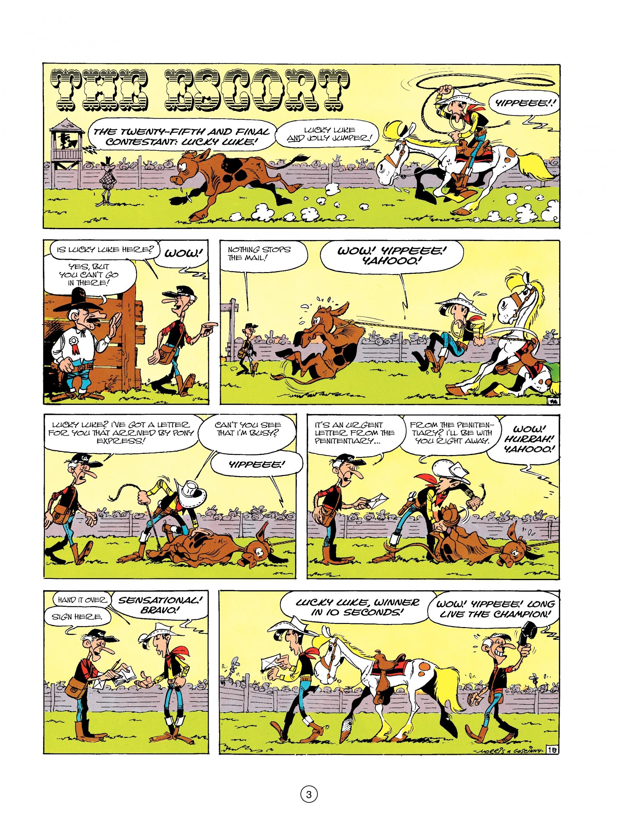 Read online A Lucky Luke Adventure comic -  Issue #18 - 3