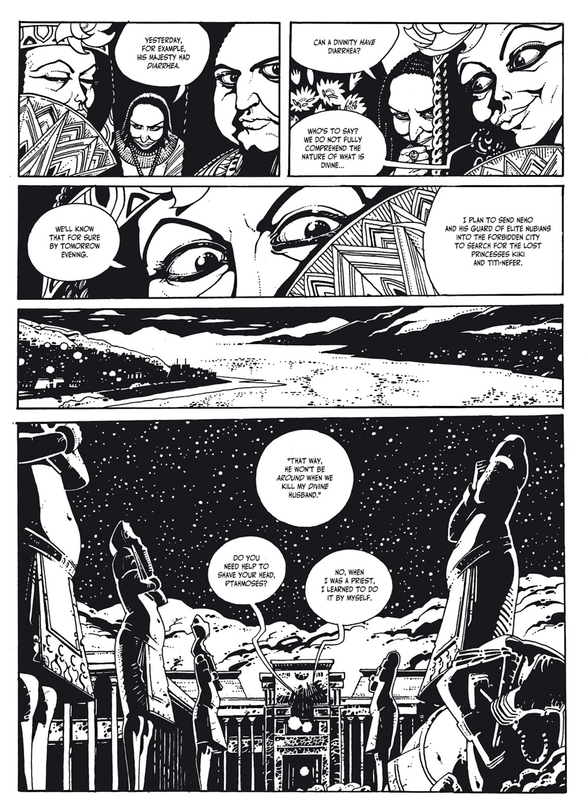 Read online The Egyptian Princesses comic -  Issue # TPB 1 (Part 2) - 33