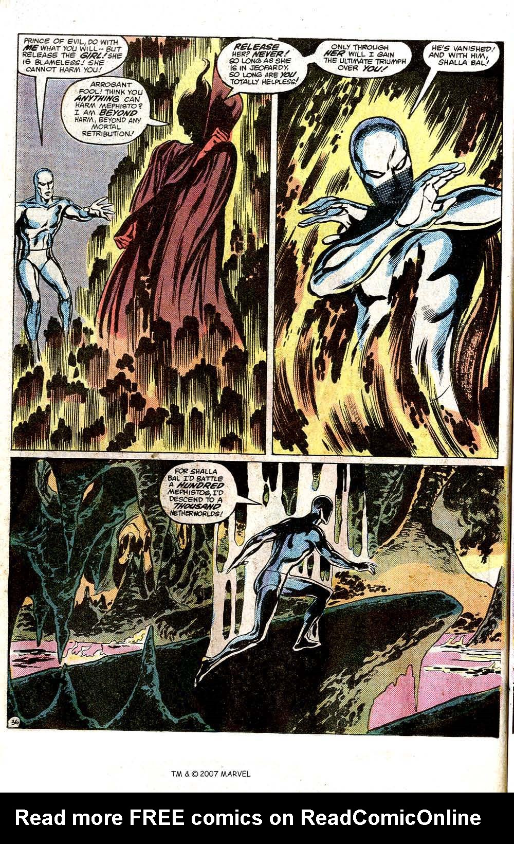 Read online Silver Surfer (1982) comic -  Issue # Full - 38