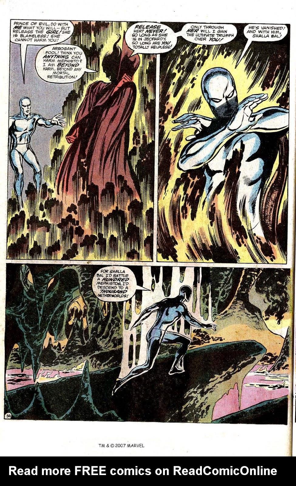 Silver Surfer (1982) Full #1 - English 38