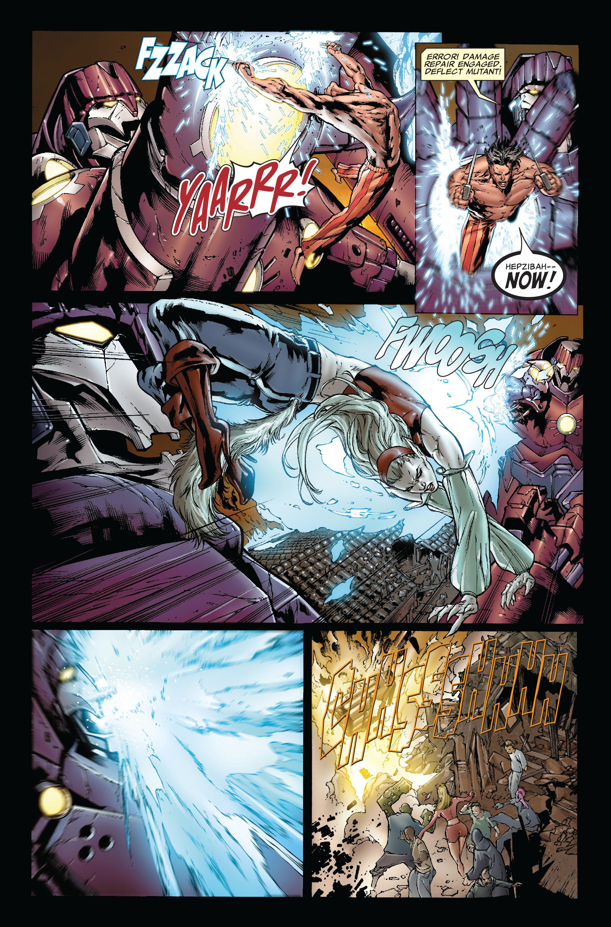 Read online Uncanny X-Men (1963) comic -  Issue #493 - 9