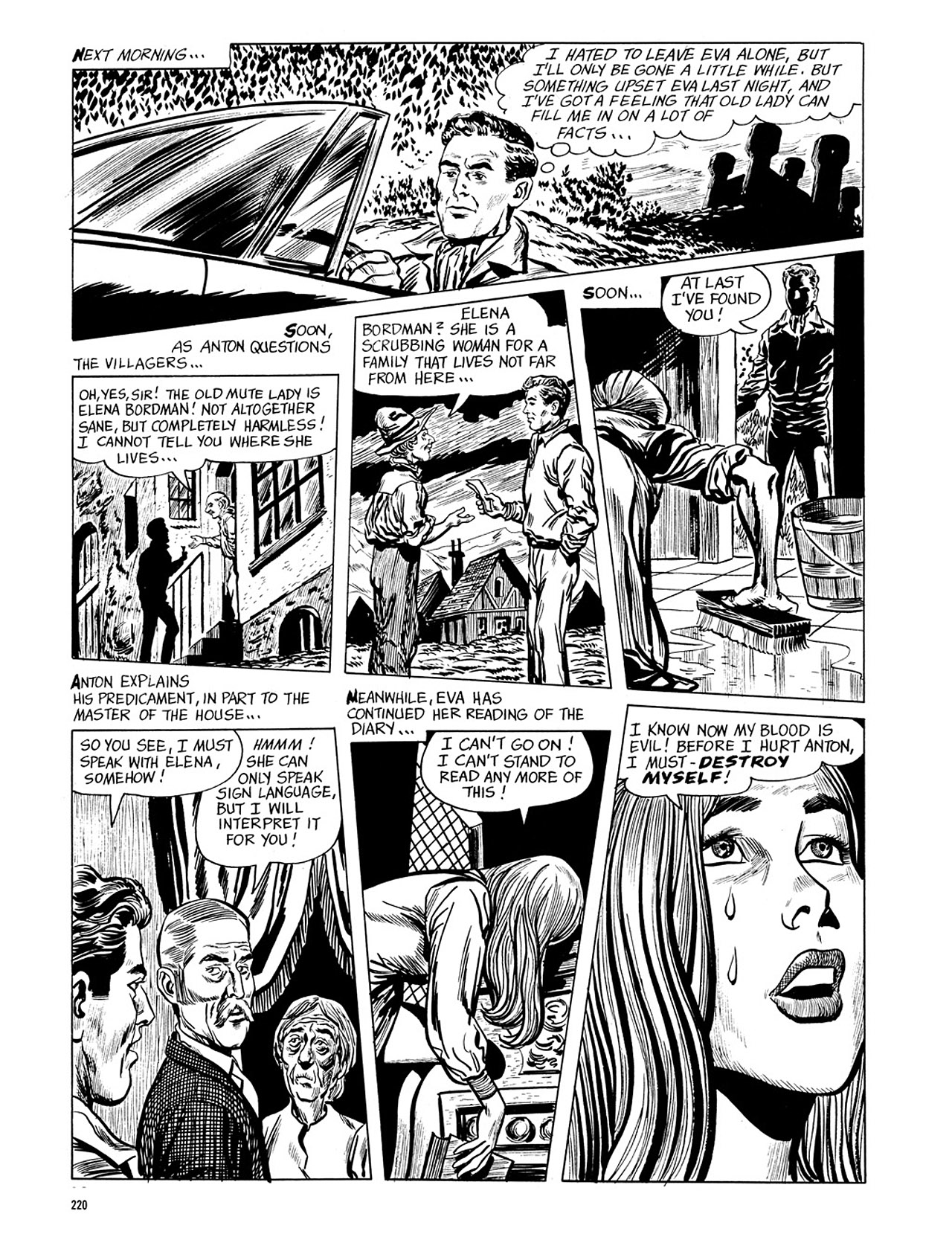 Read online Eerie Archives comic -  Issue # TPB 4 - 220