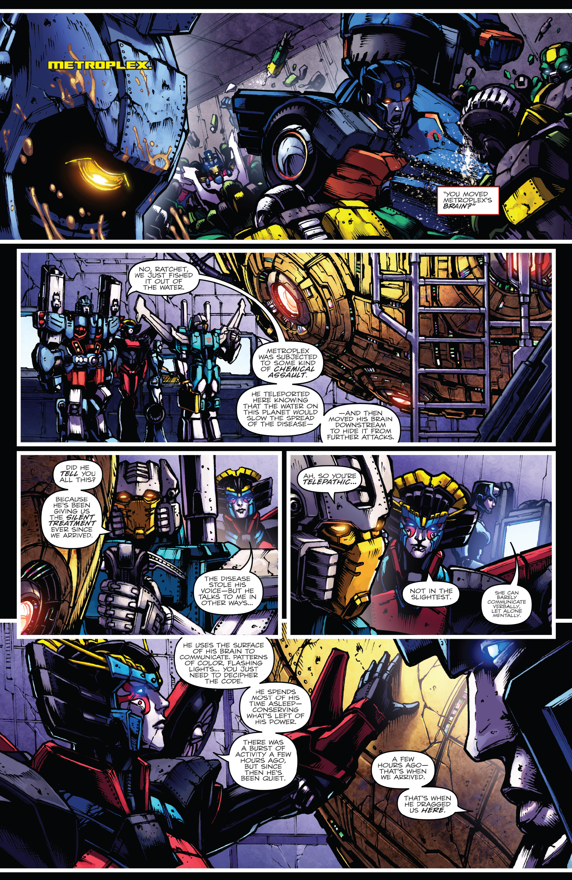 Read online The Transformers: Dark Cybertron Finale comic -  Issue # Full - 43