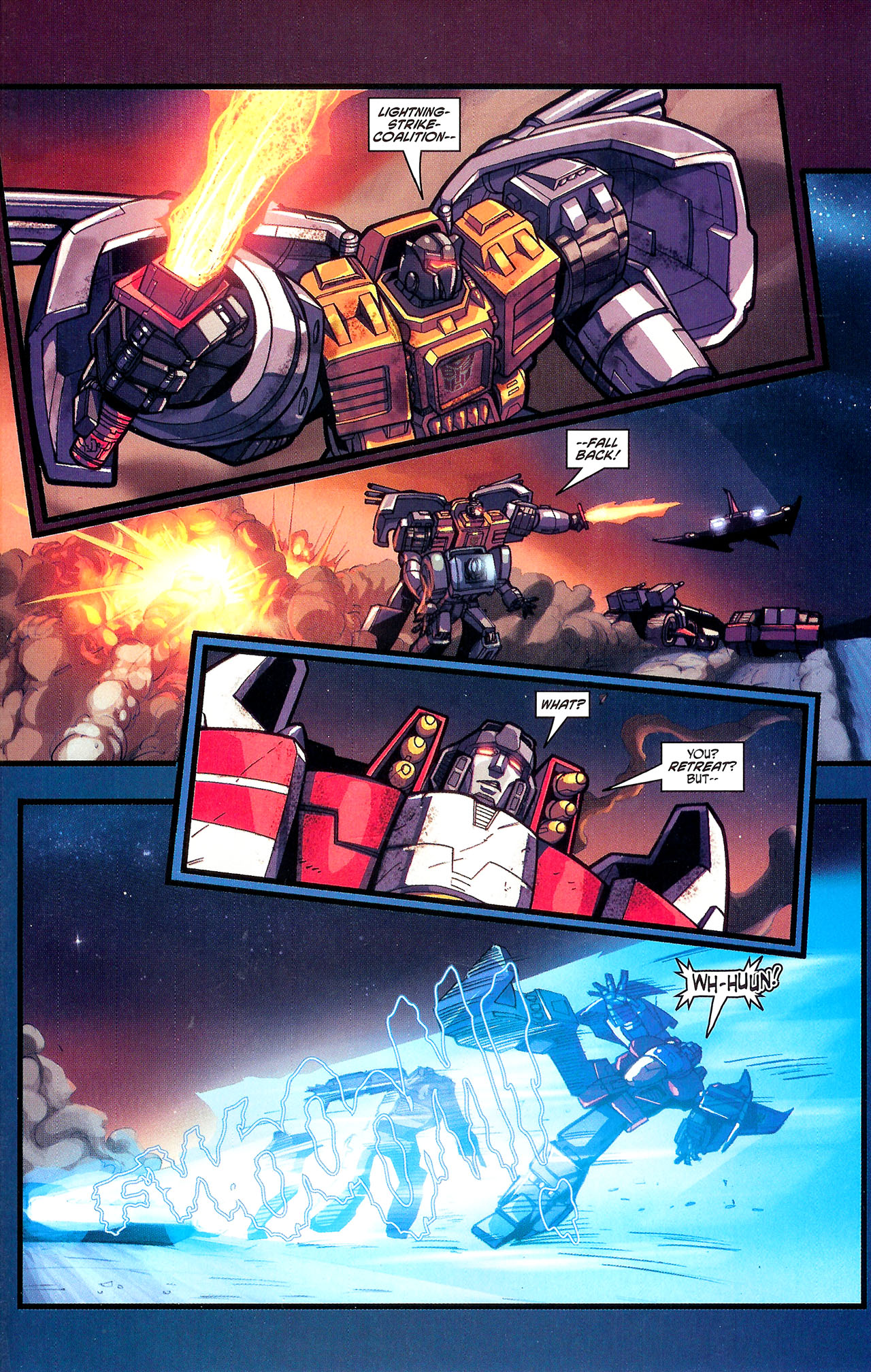 "Read online Transformers War Within: ""The Dark Ages"" comic -  Issue #1 - 22"