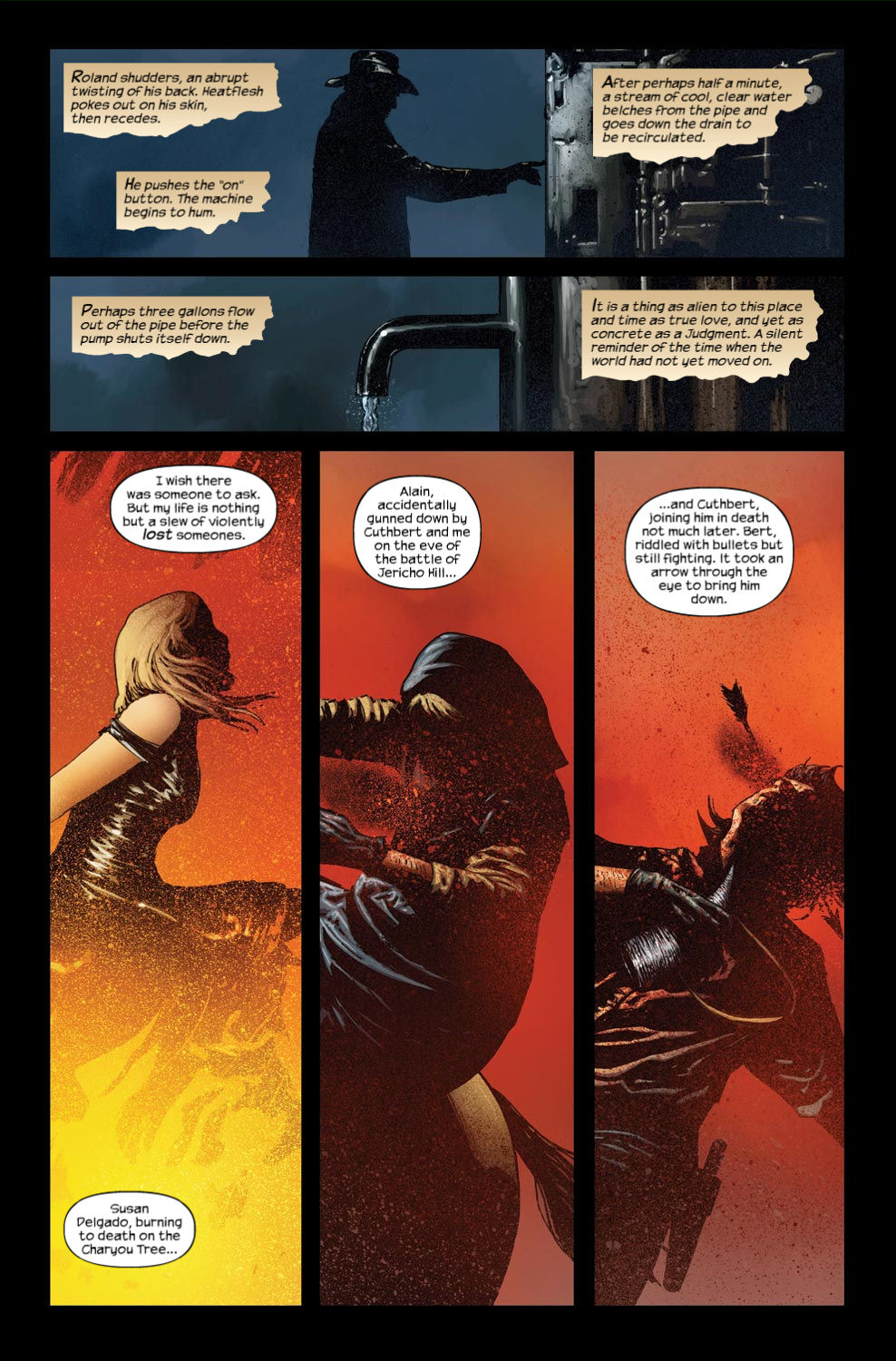 Read online Dark Tower: The Gunslinger - The Way Station comic -  Issue #3 - 8