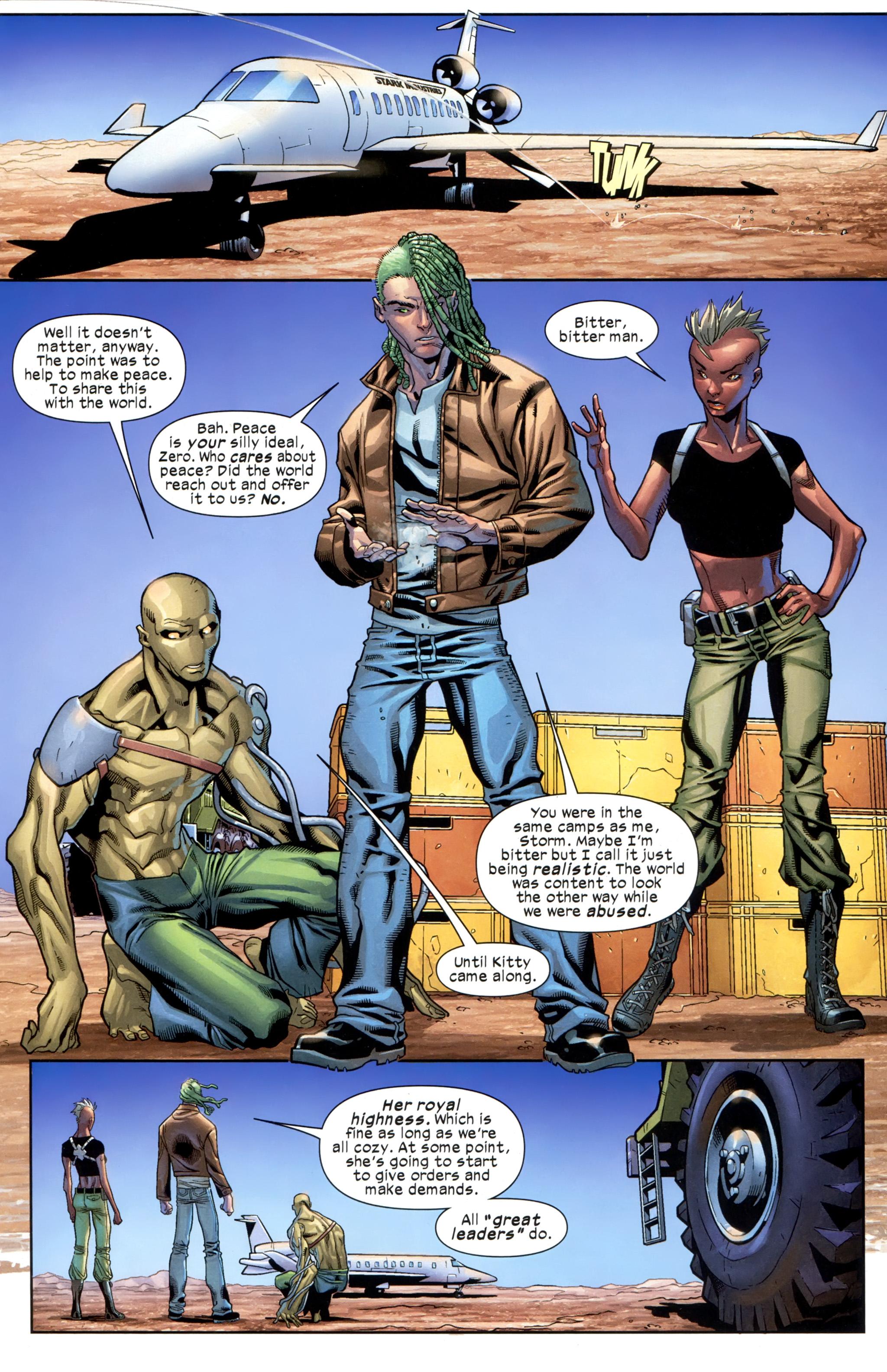 Read online Ultimate Comics X-Men comic -  Issue #21 - 11