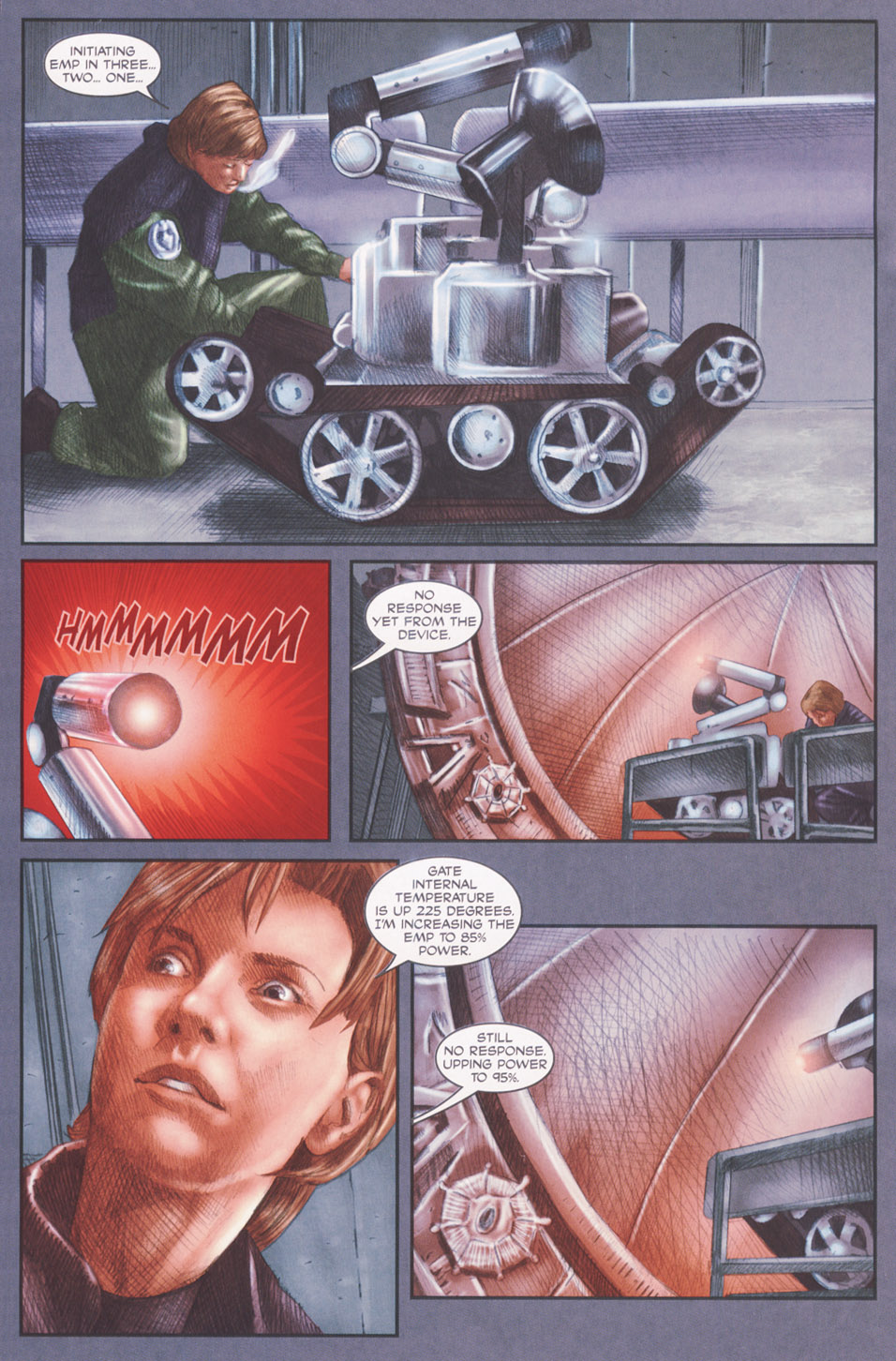 Read online Stargate SG-1: POW comic -  Issue #2 - 20