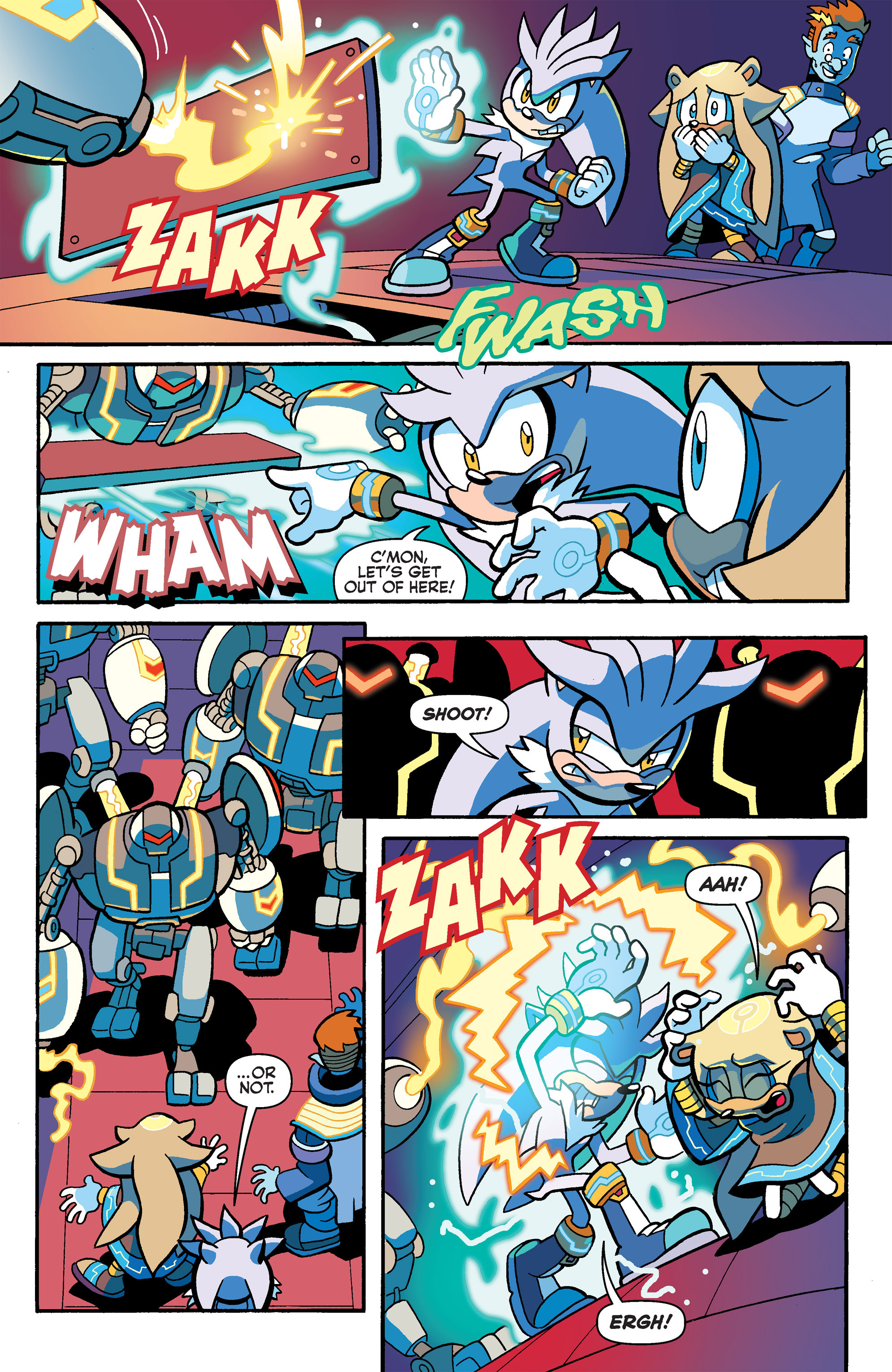 Read online Sonic Universe comic -  Issue #80 - 17