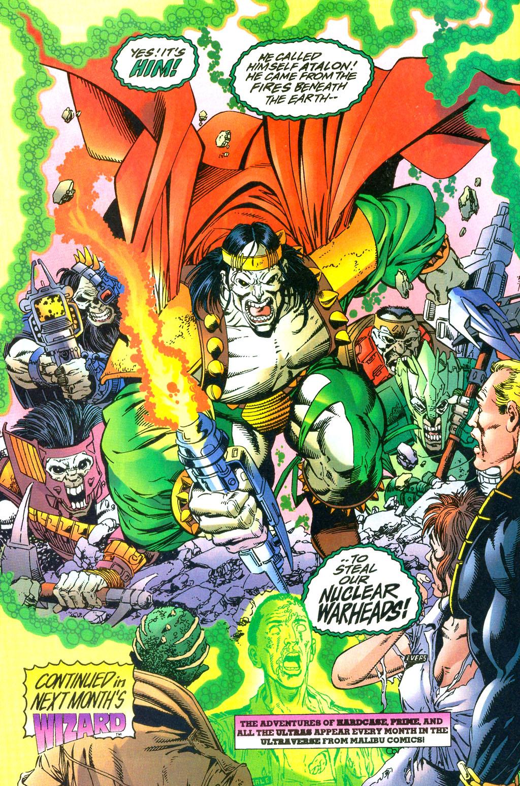 Read online UltraForce (1994) comic -  Issue #0 - 14