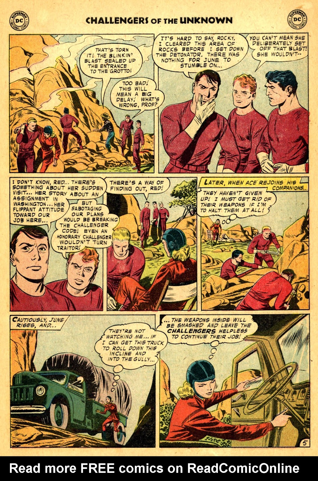 Challengers of the Unknown (1958) issue 2 - Page 7