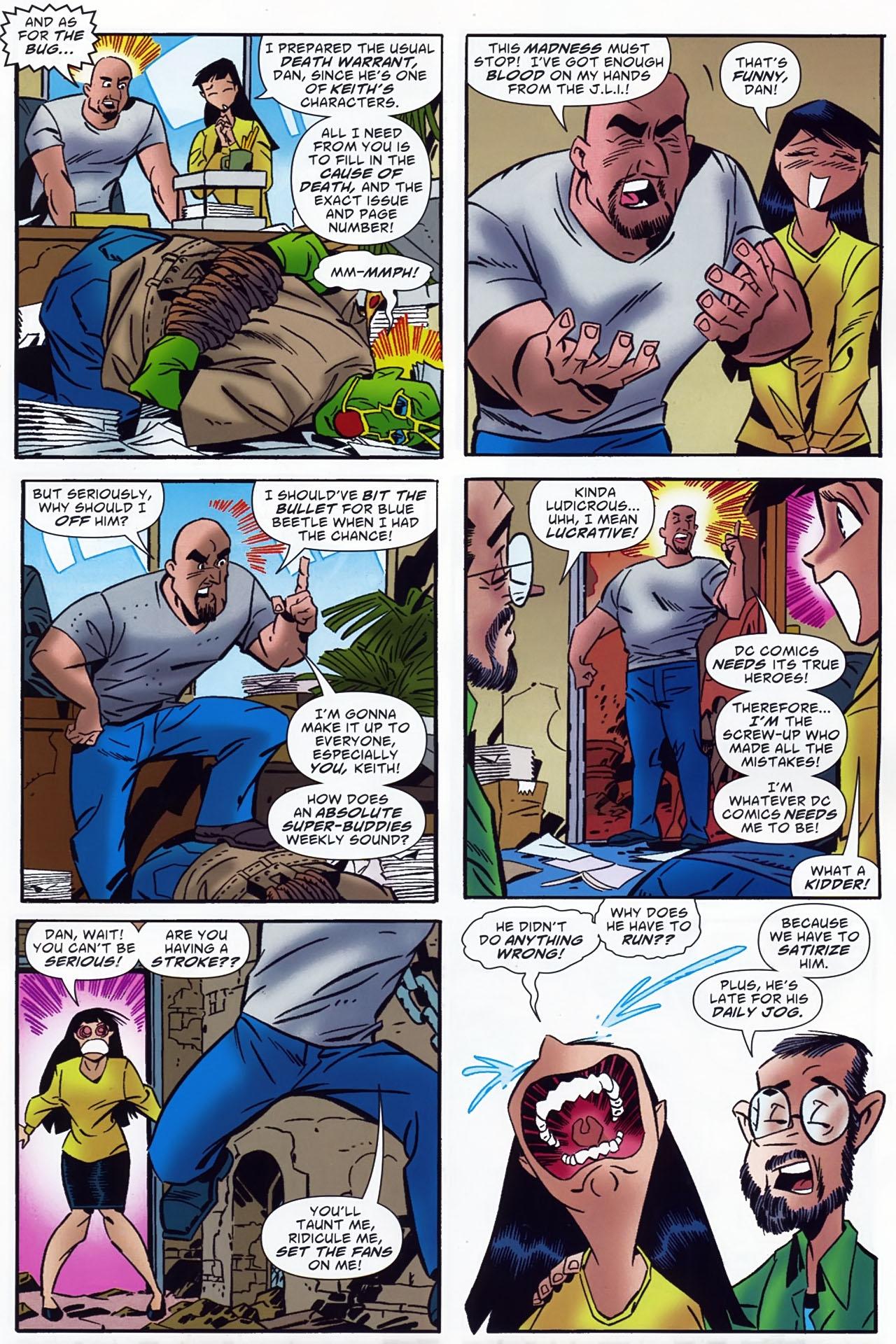Read online Ambush Bug: Year None comic -  Issue #4 - 4