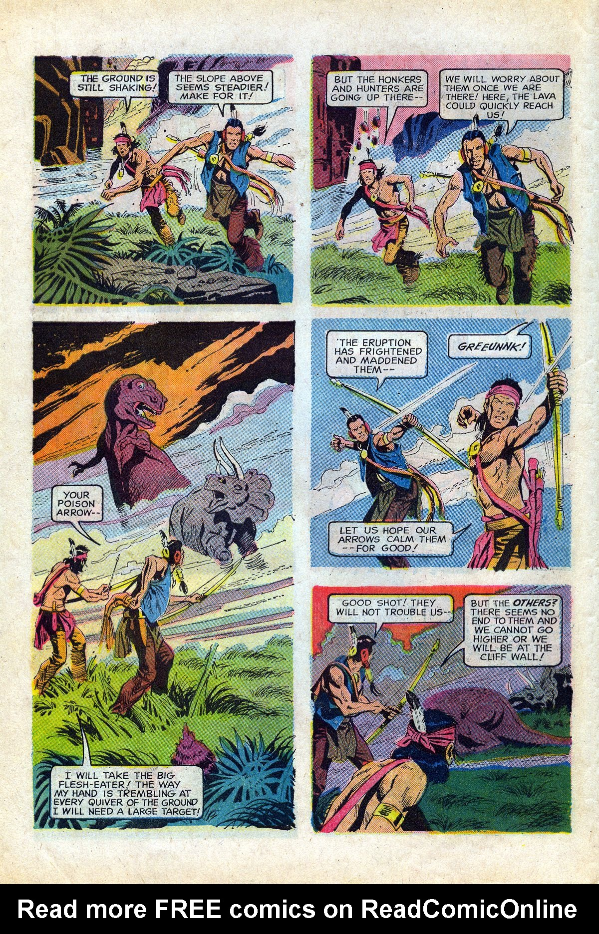 Read online Turok, Son of Stone comic -  Issue #66 - 10