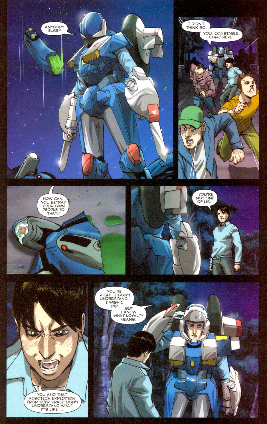 Read online Robotech: Invasion comic -  Issue #3 - 12