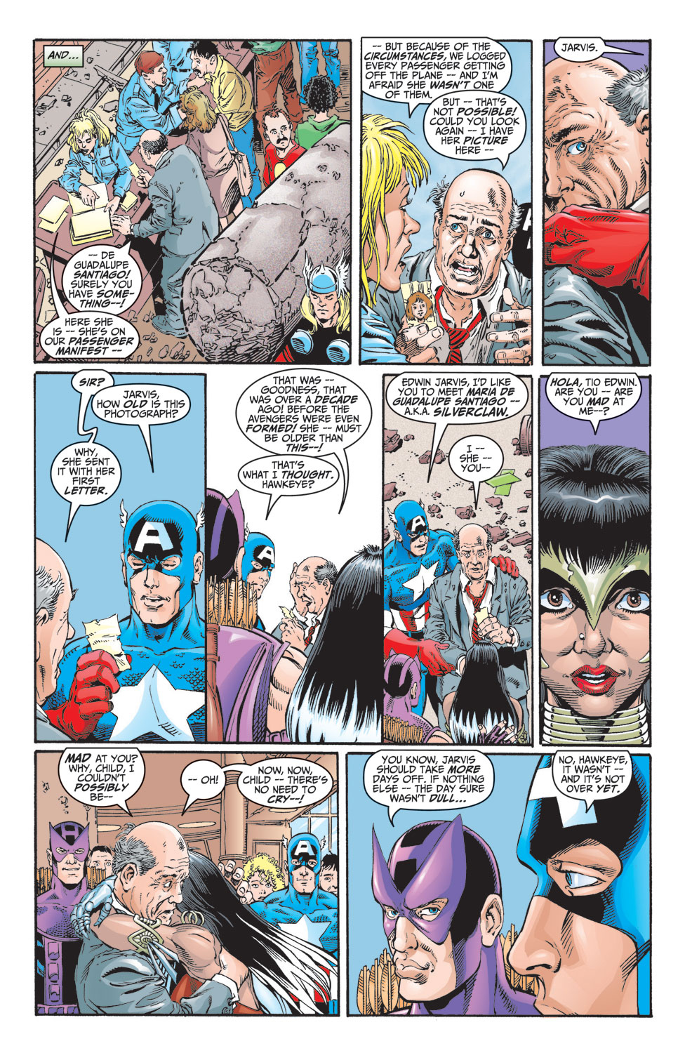 Read online Avengers (1998) comic -  Issue #8 - 22