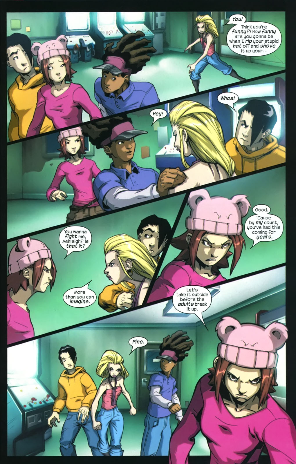 Read online Sentinel (2006) comic -  Issue #4 - 20