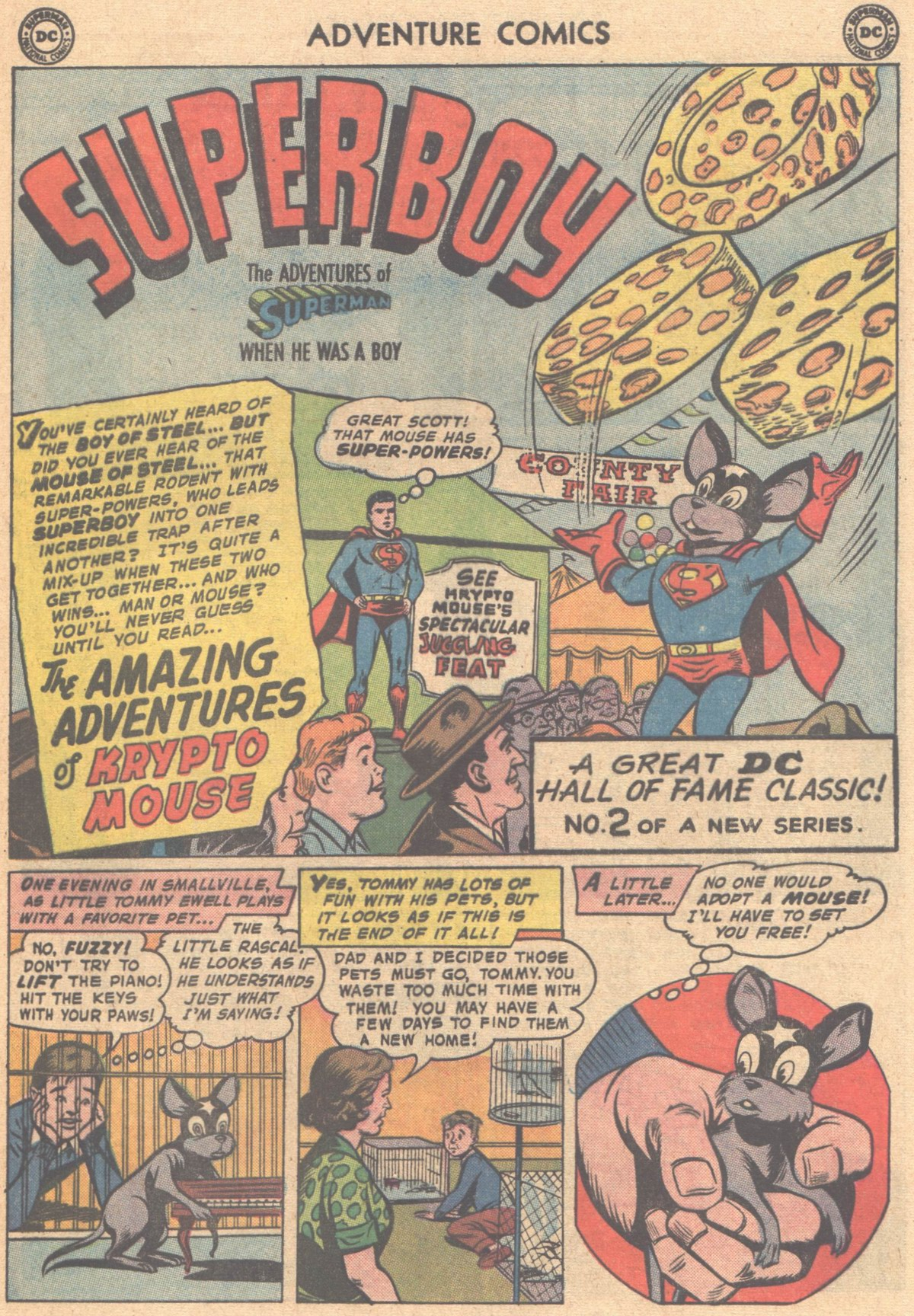 Read online Adventure Comics (1938) comic -  Issue #318 - 24