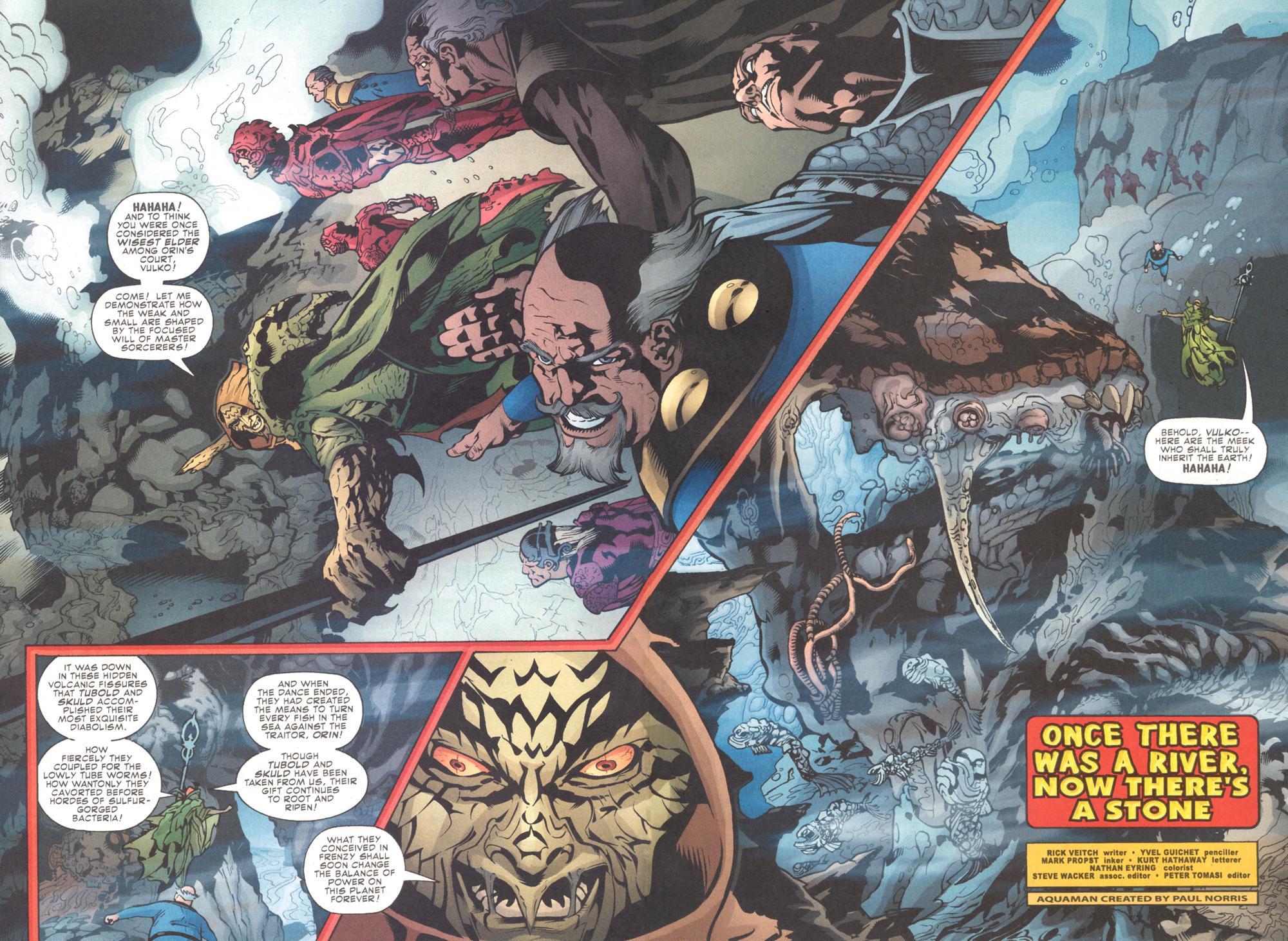 Read online Aquaman (2003) comic -  Issue #9 - 4
