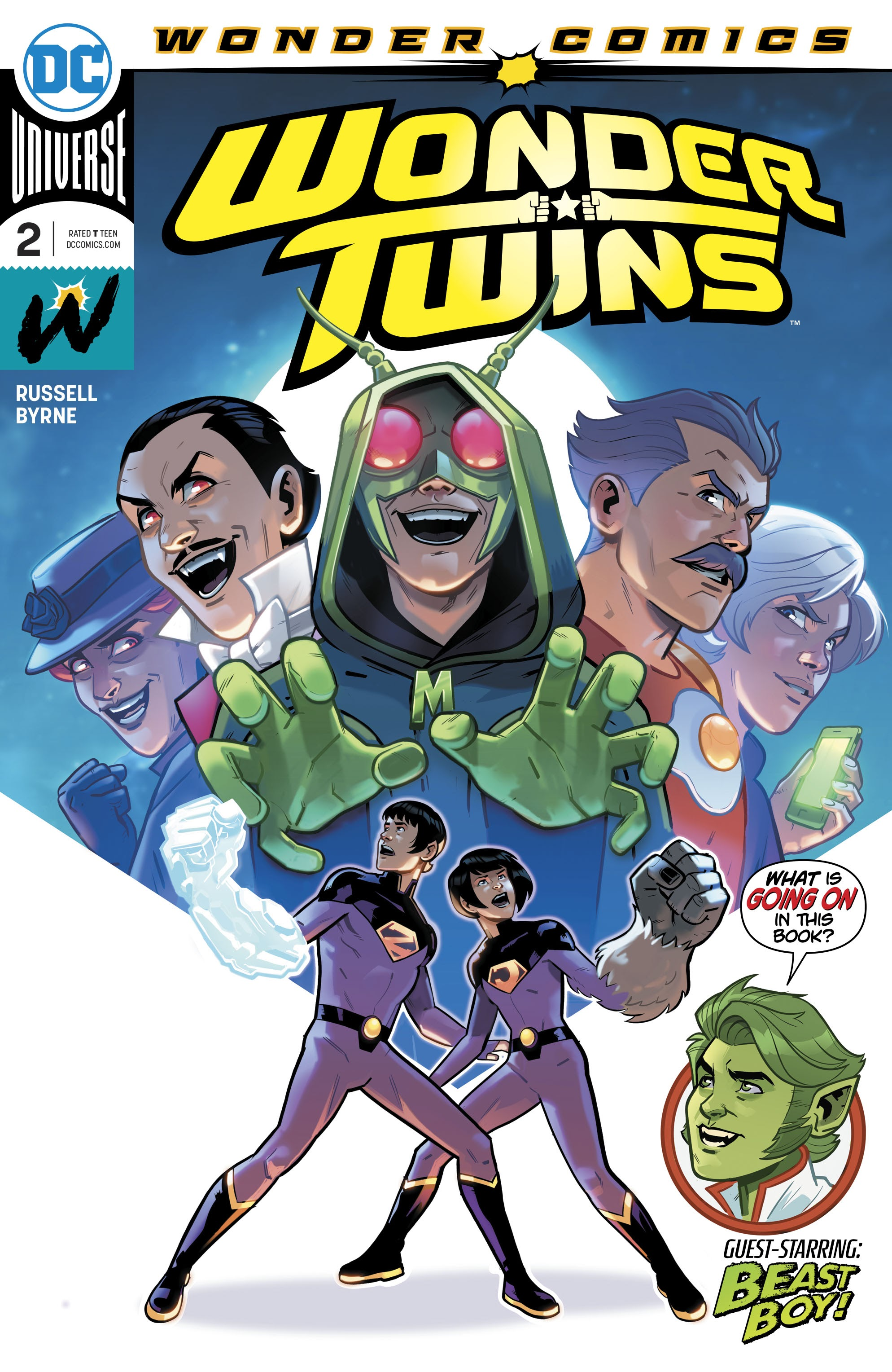 Wonder Twins 2 Page 1